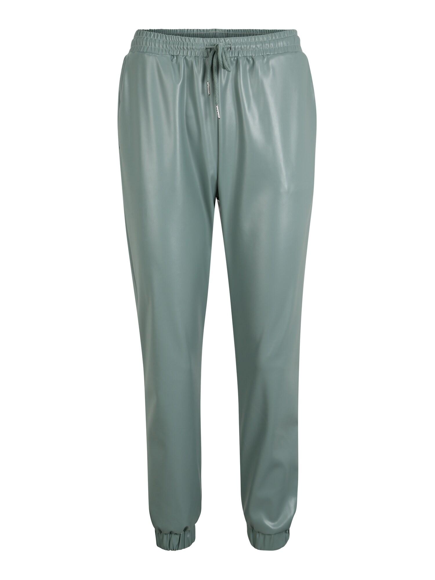 Missguided (Petite) Kelnės pastelinė žalia / šviesiai žalia
