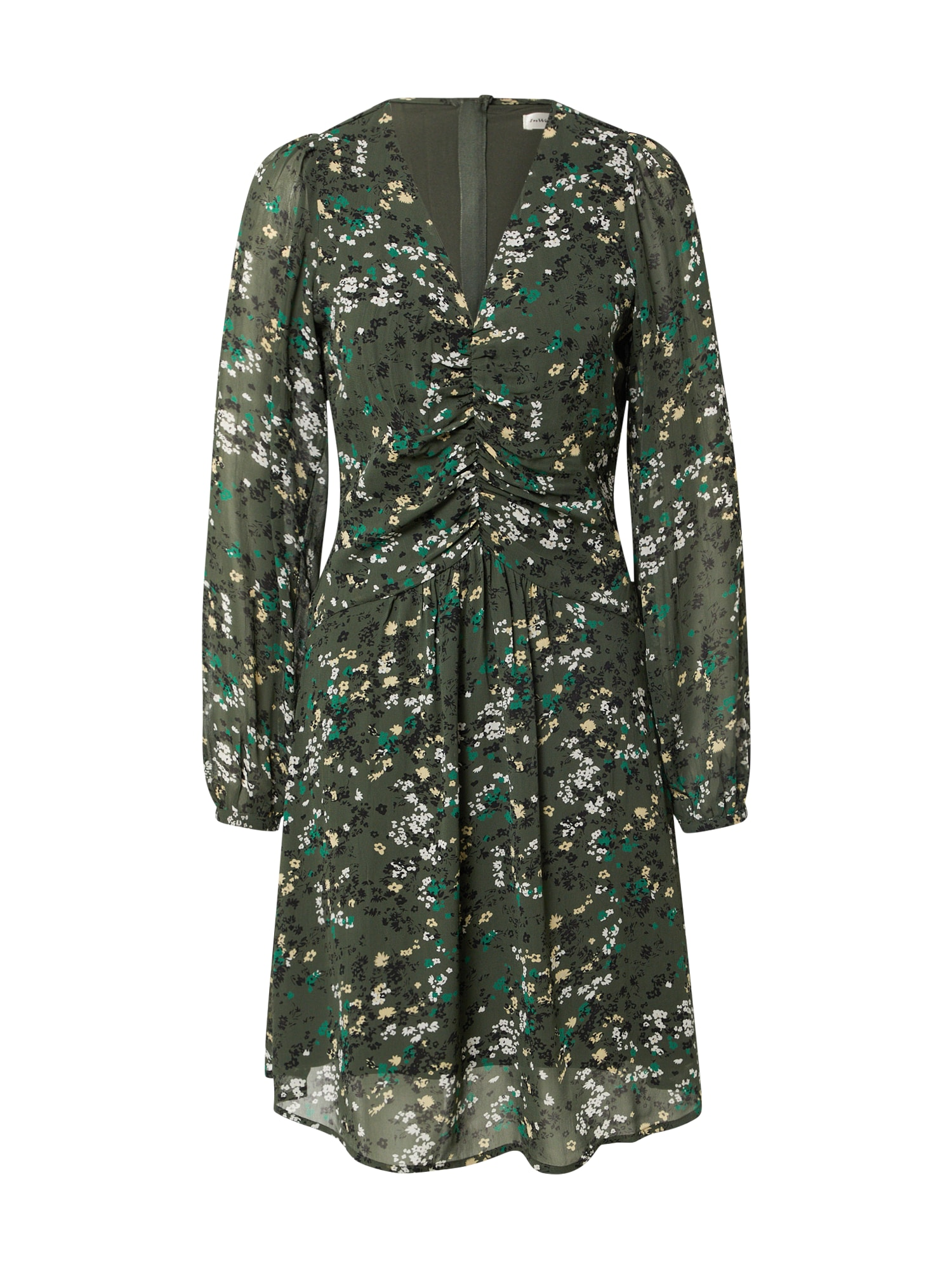 InWear Šaty 'Barbel'  olivová / bílá / černá / zelená / pastelově žlutá