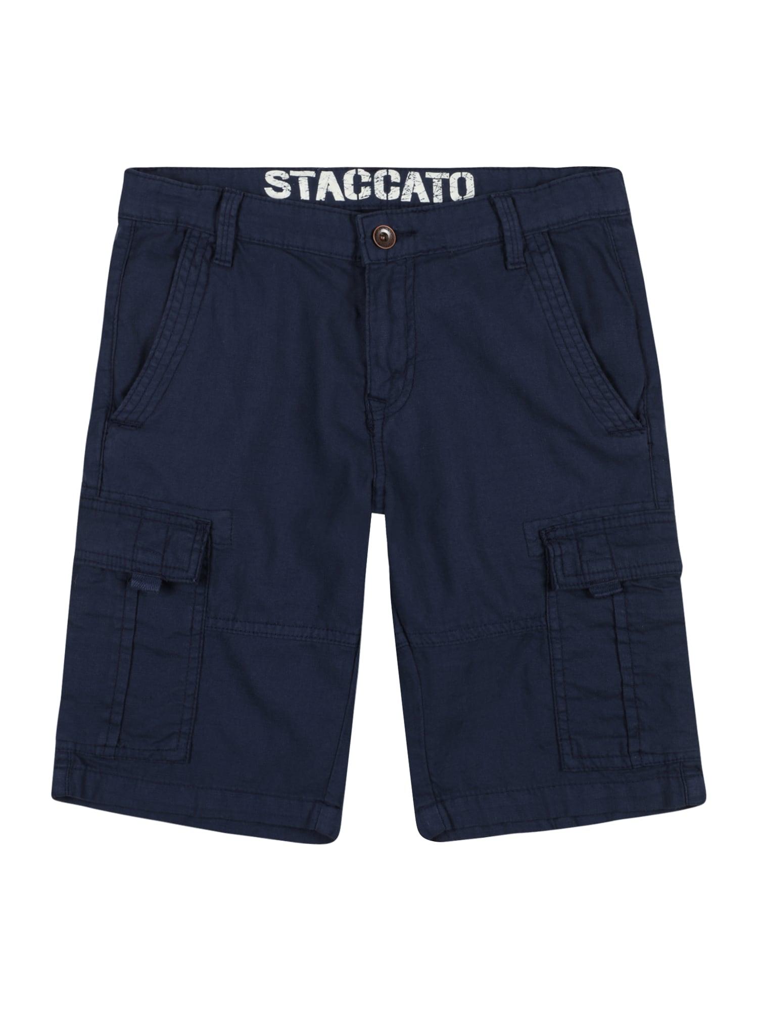 STACCATO Kelnės tamsiai mėlyna