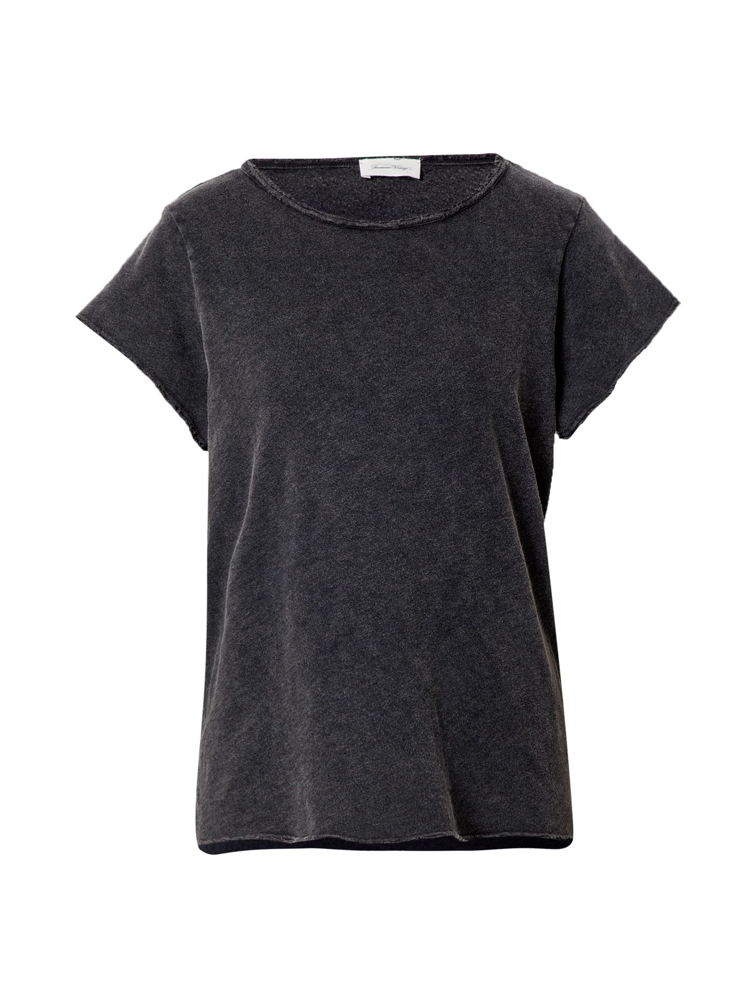 AMERICAN VINTAGE Marškinėliai juoda