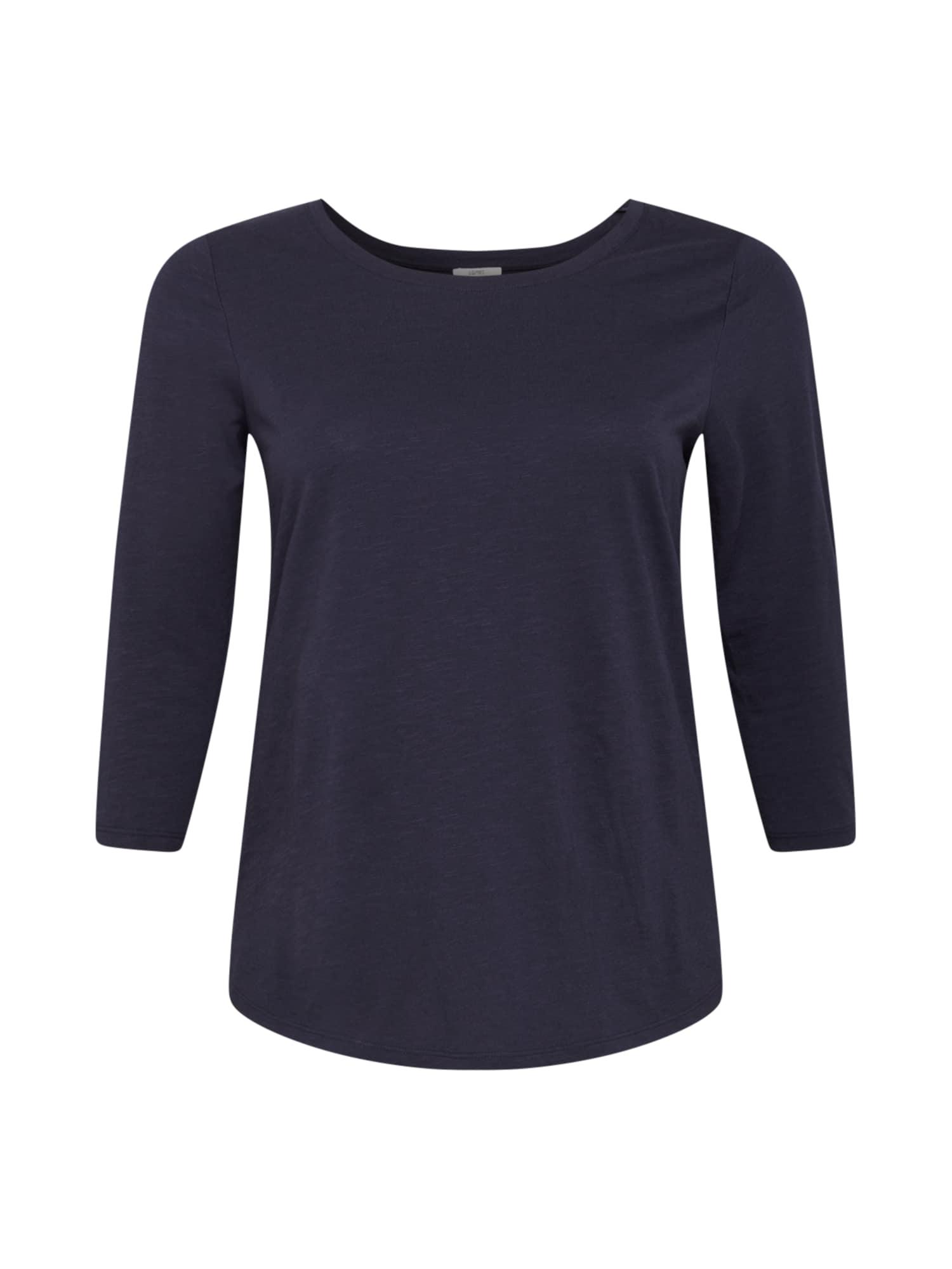 Esprit Curves Marškinėliai tamsiai mėlyna