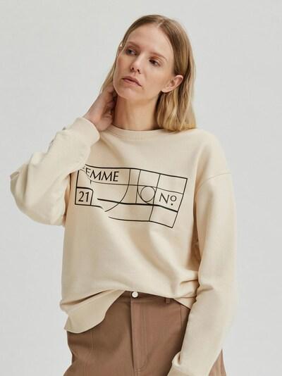Selected Femme Cami Print Langarm Sweatshirt