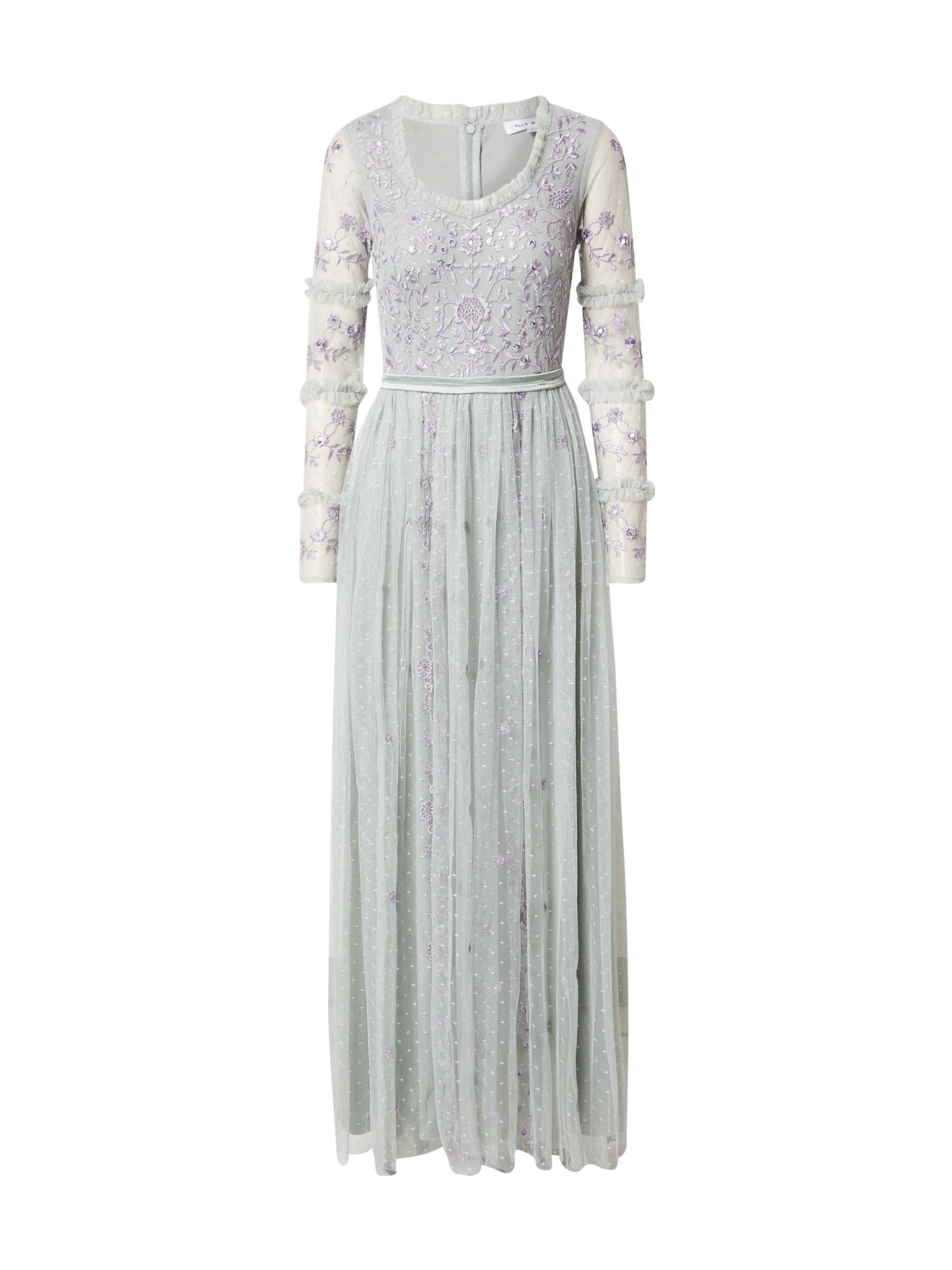 Frock and Frill Vakarinė suknelė azuro spalva / alyvinė spalva