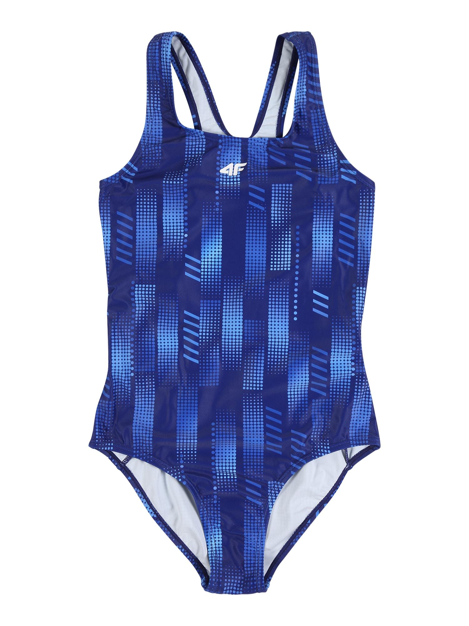 4F Sportovní plavky  kobaltová modř / námořnická modř