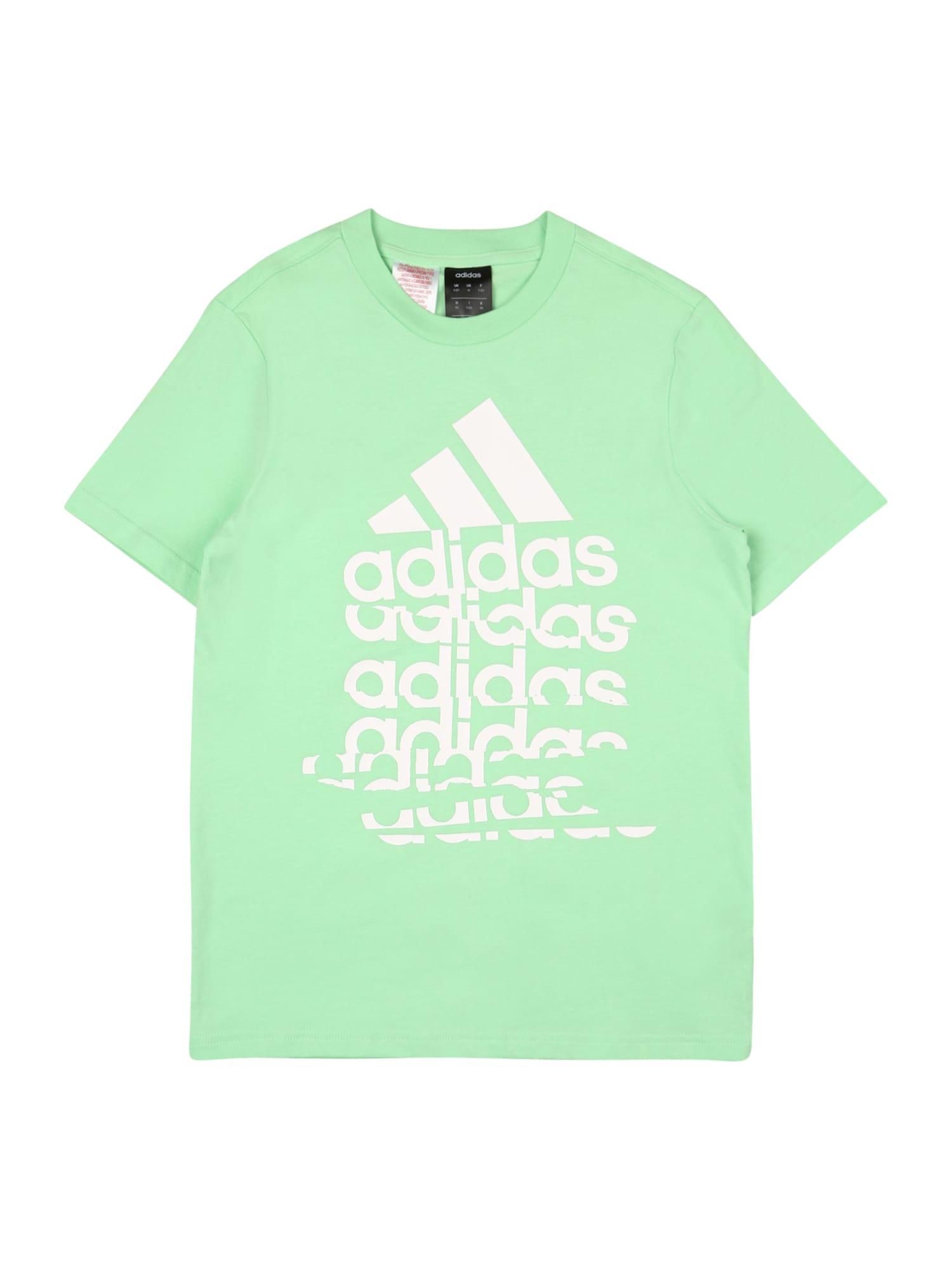 ADIDAS PERFORMANCE Funkční tričko  mátová / bílá