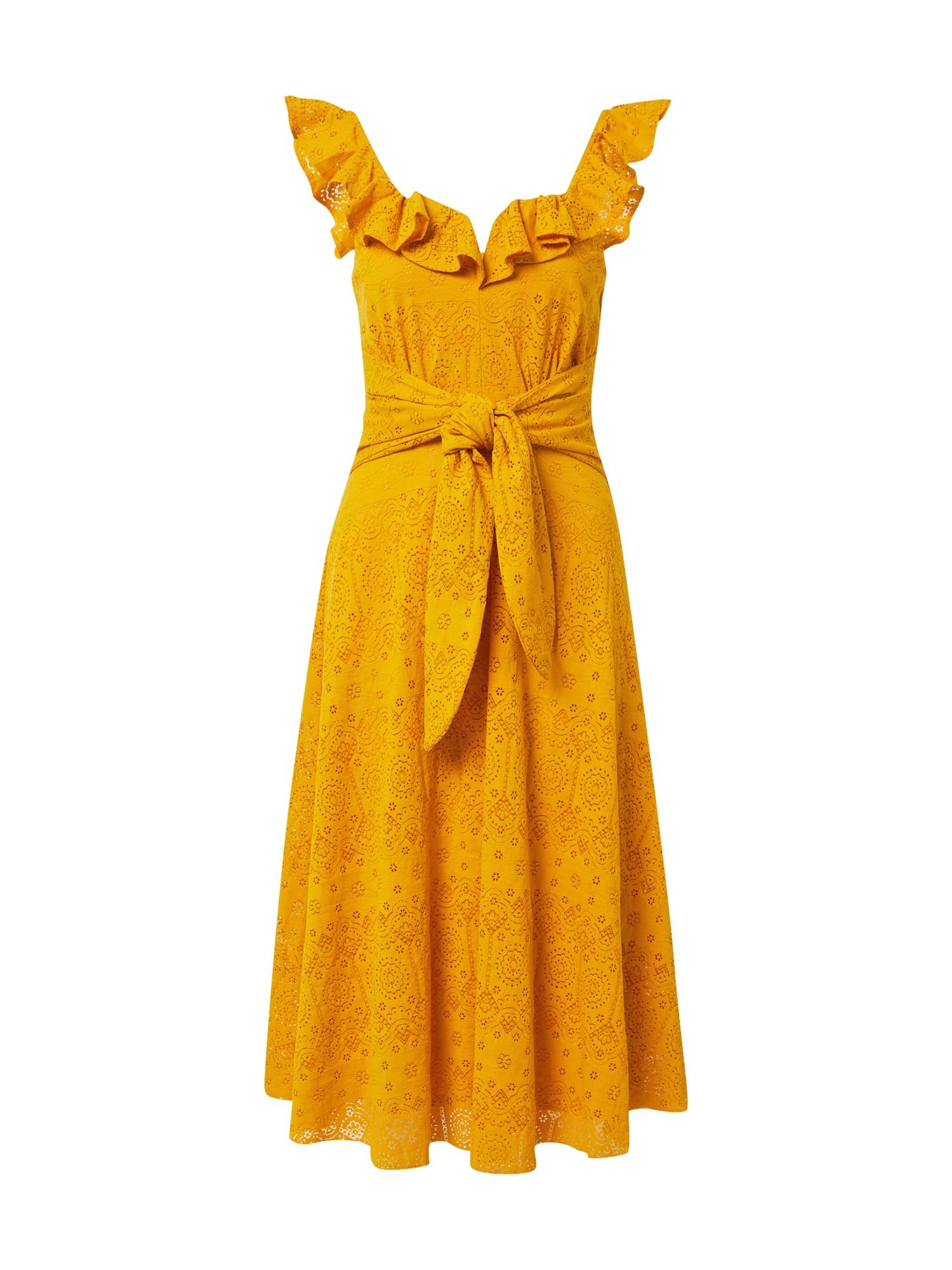 Little Mistress Kokteilinė suknelė geltona