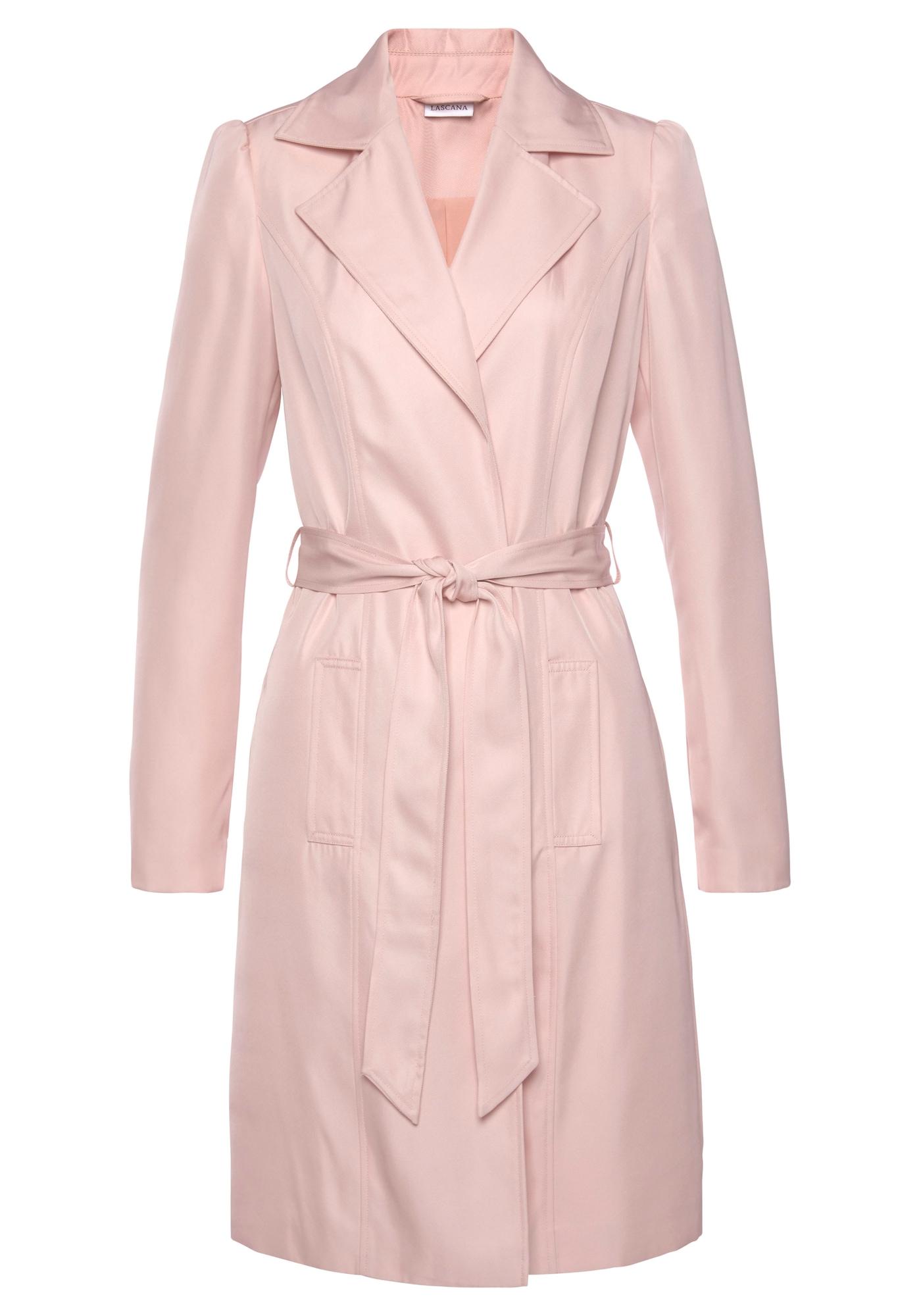 LASCANA Demisezoninis paltas rožinė