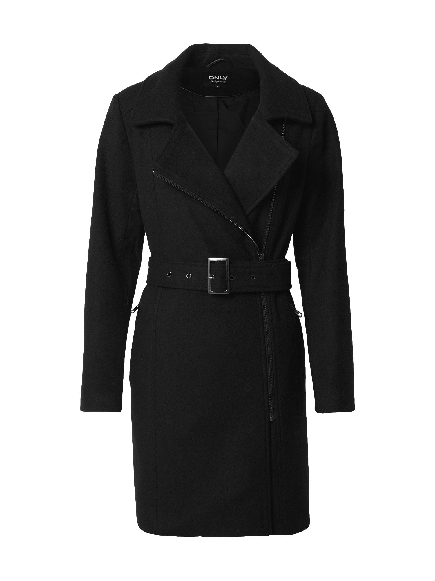 ONLY Přechodný kabát 'Olivia'  černá