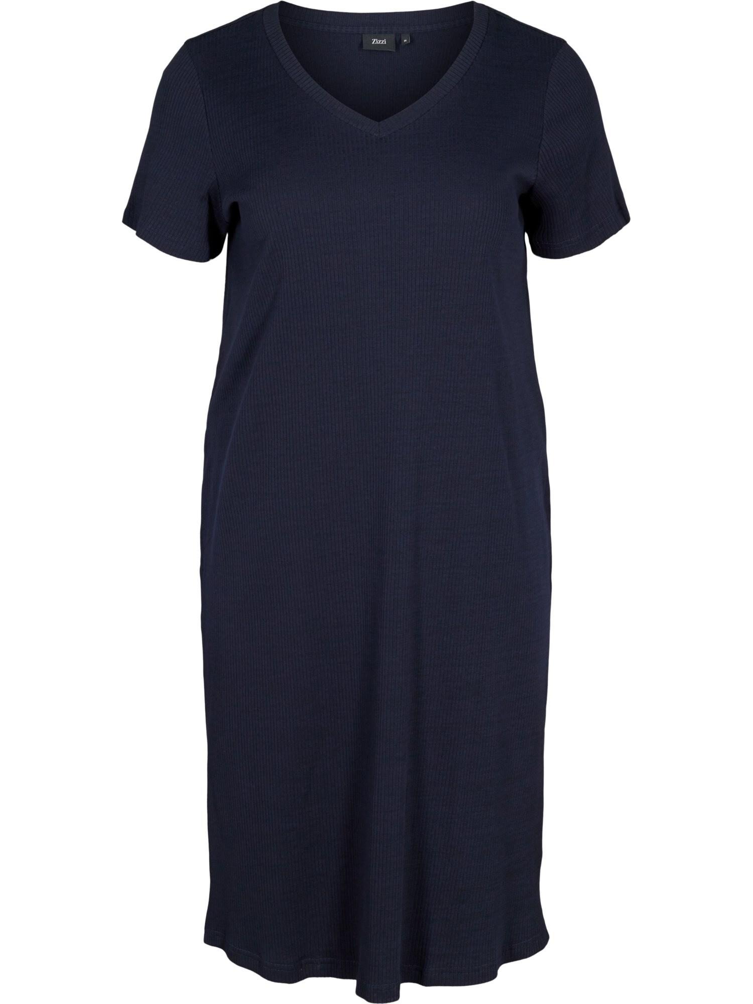 Zizzi Letní šaty 'Vnava'  tmavě modrá