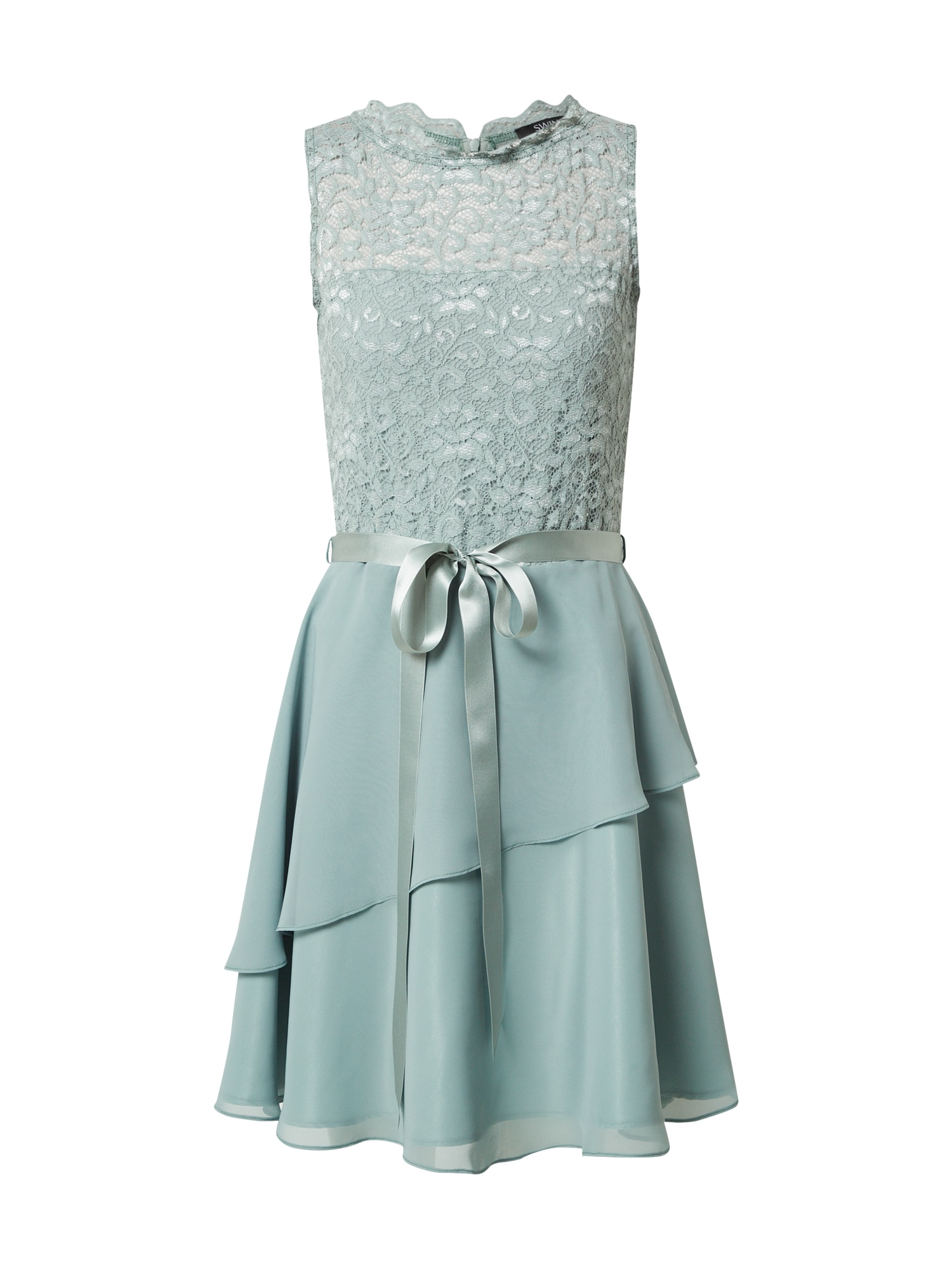 SWING Suknelė mėtų spalva