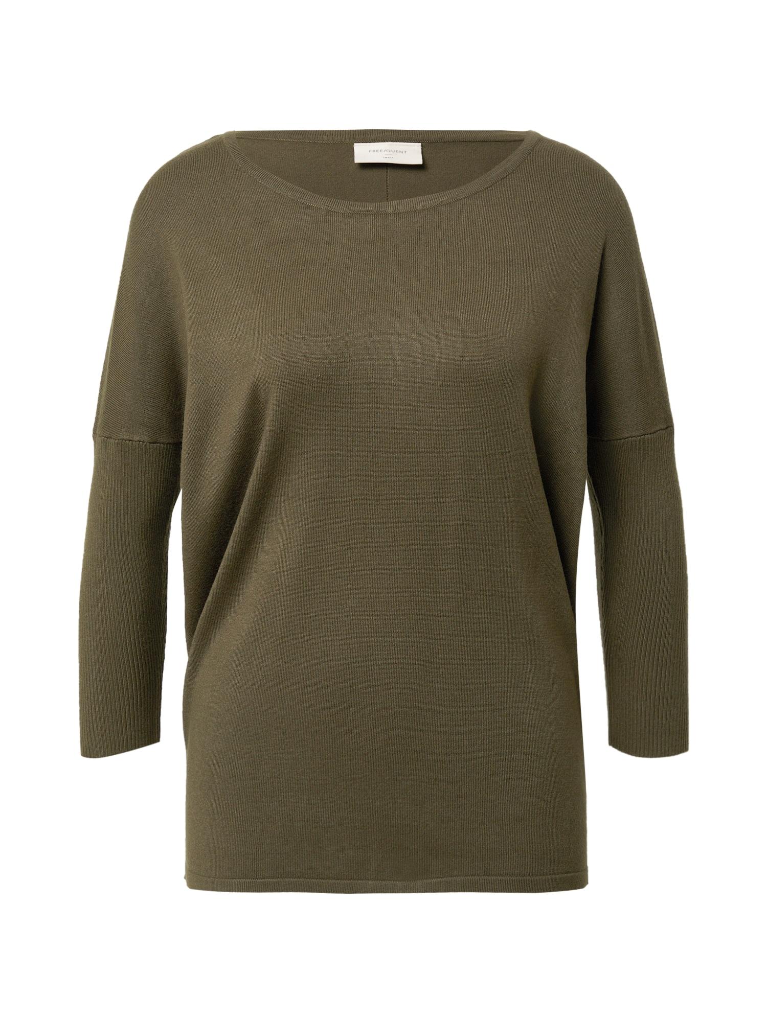 Freequent Megztinis 'JONE' alyvuogių spalva