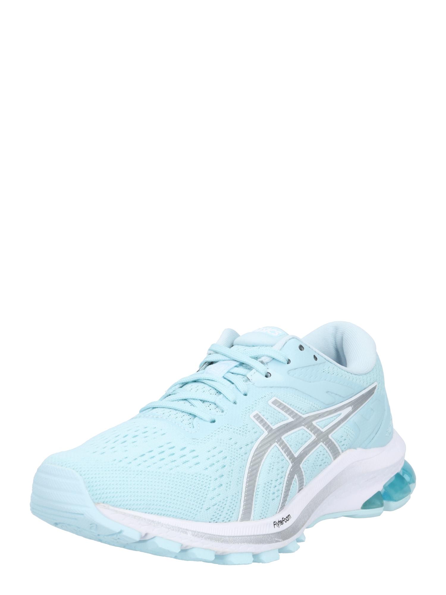 ASICS Bėgimo batai šviesiai mėlyna / pilka