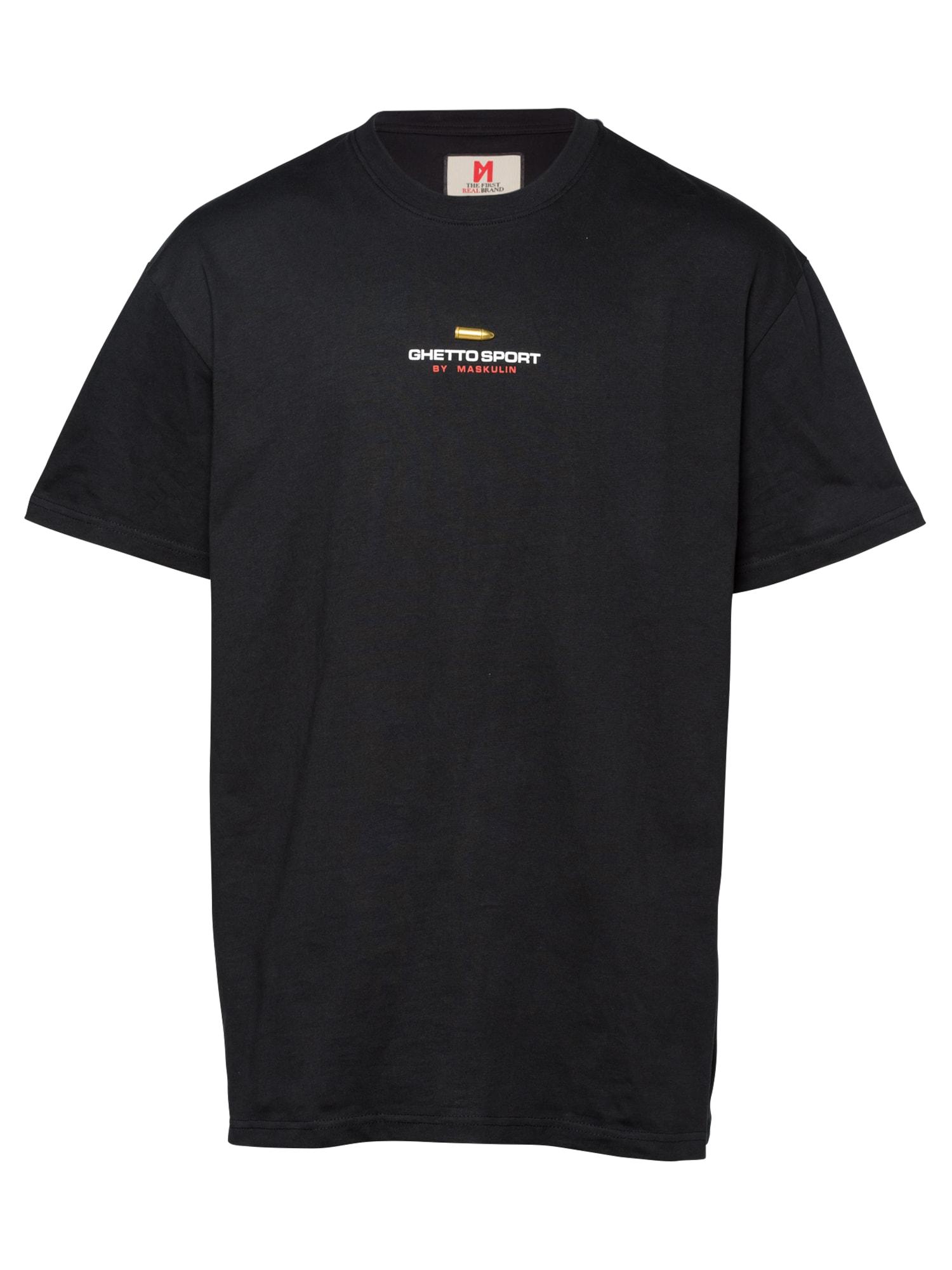 MASKULIN Marškinėliai juoda
