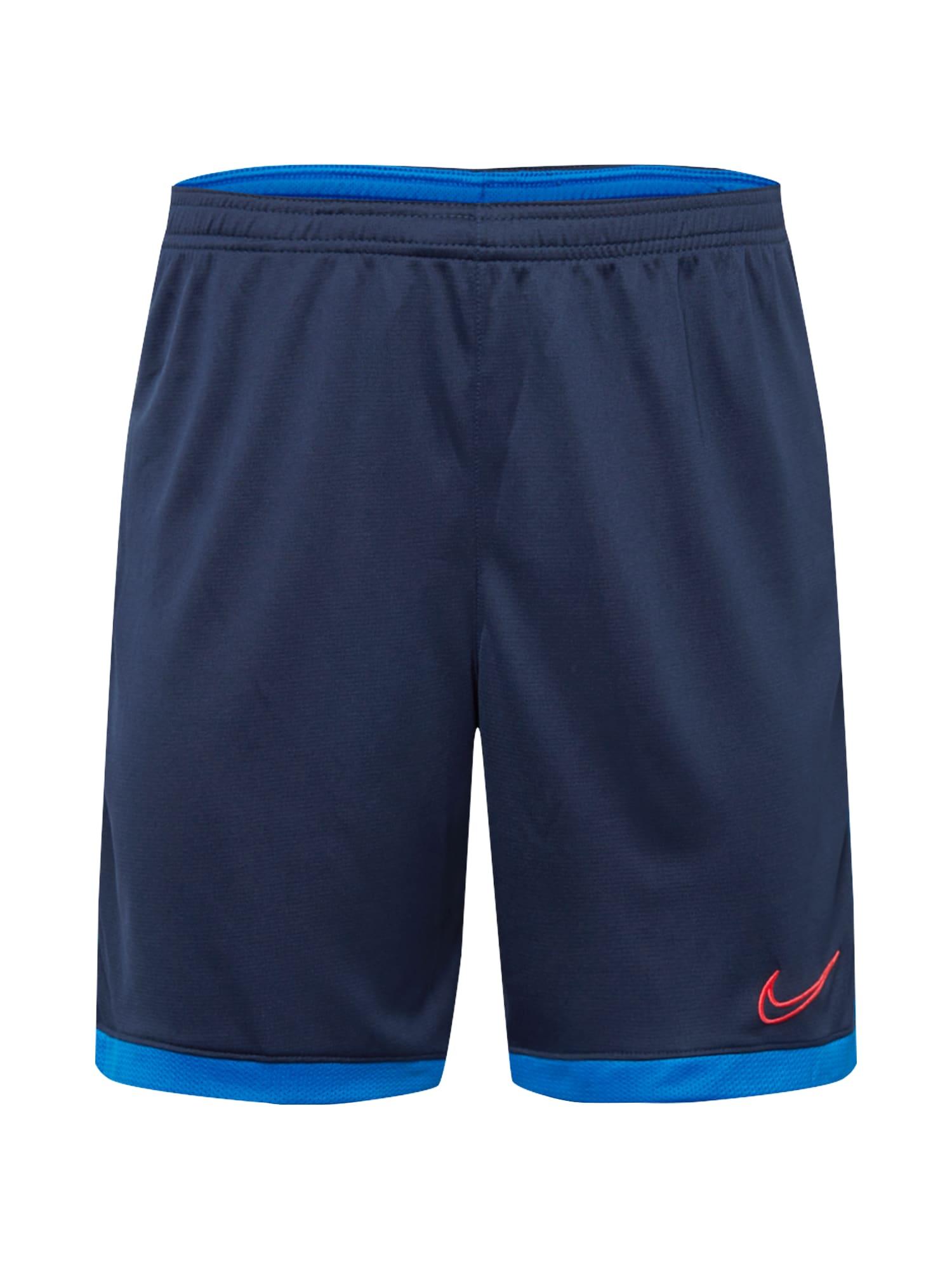 NIKE Sportovní kalhoty 'Academy'  červená / námořnická modř / nebeská modř