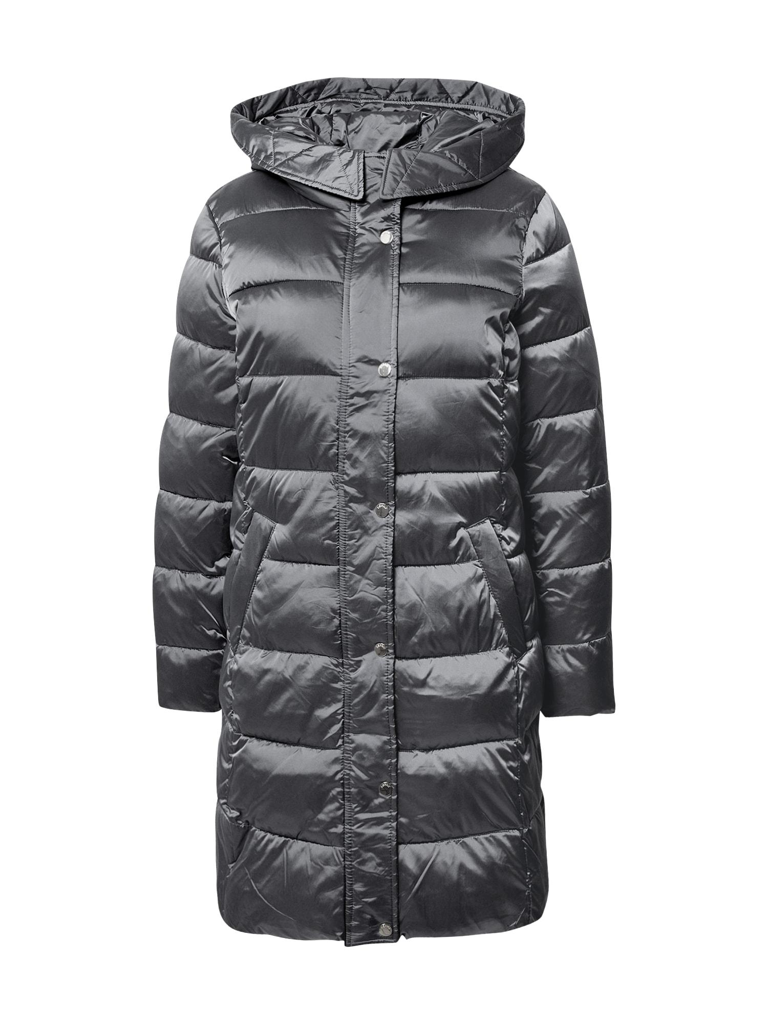 Esprit Collection Demisezoninis paltas sidabro pilka