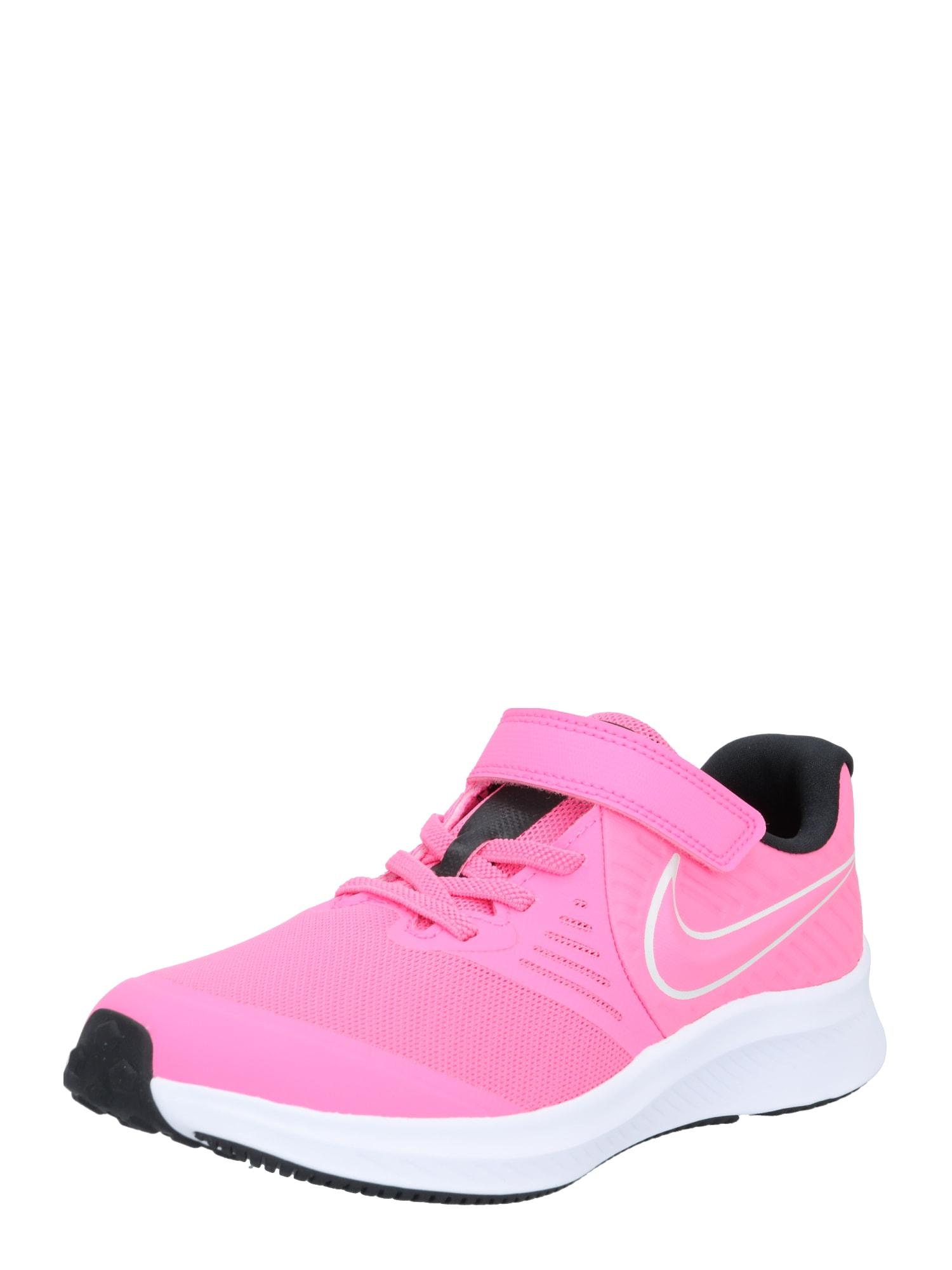 NIKE Sportiniai batai rožinė / balta