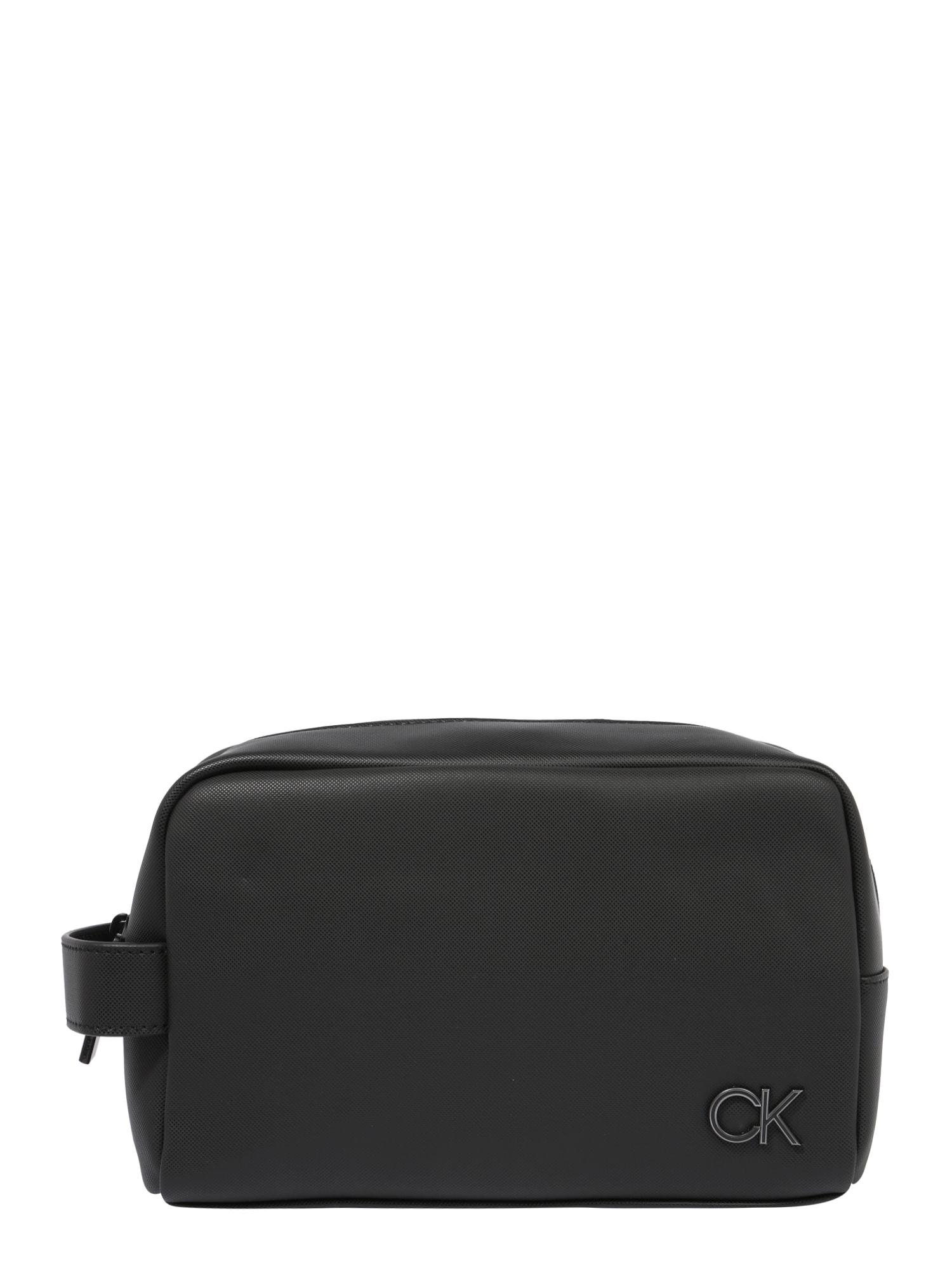 Calvin Klein Tualeto reikmenų / kosmetikos krepšys juoda