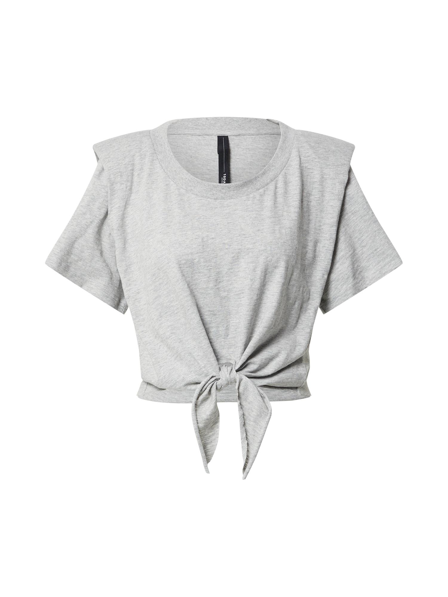 10Days Marškinėliai margai pilka