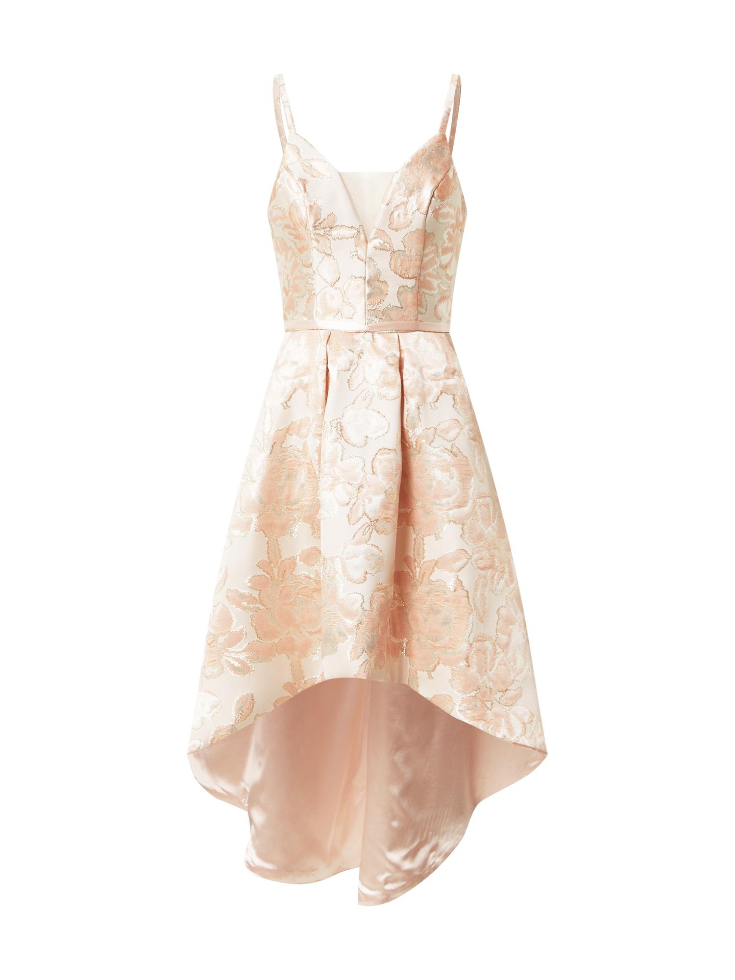 Chi Chi London Kokteilinė suknelė pastelinė rožinė / pudros spalva / persikų spalva
