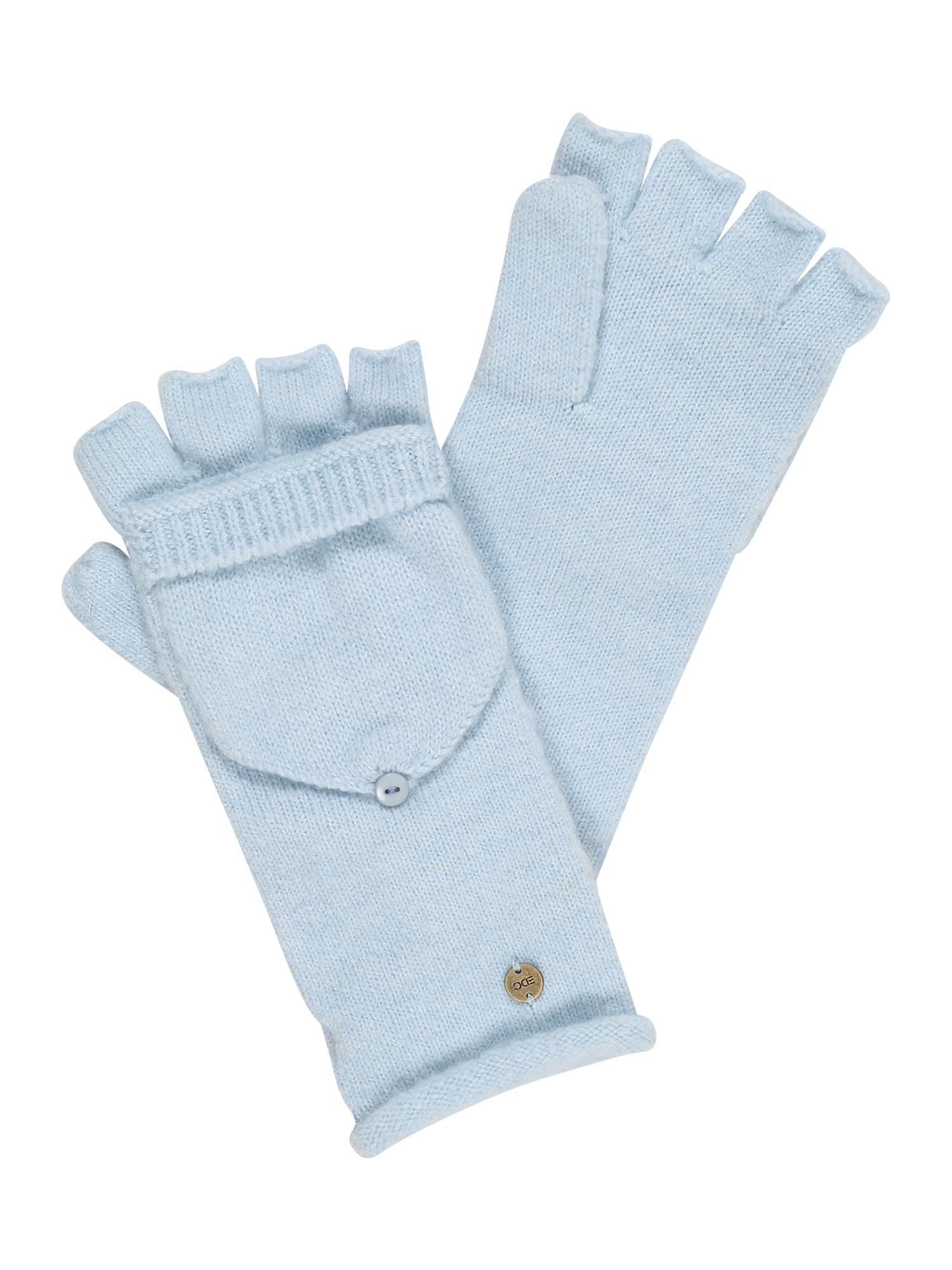 ESPRIT Trumpos pirštinės be pirštų galų pastelinė mėlyna