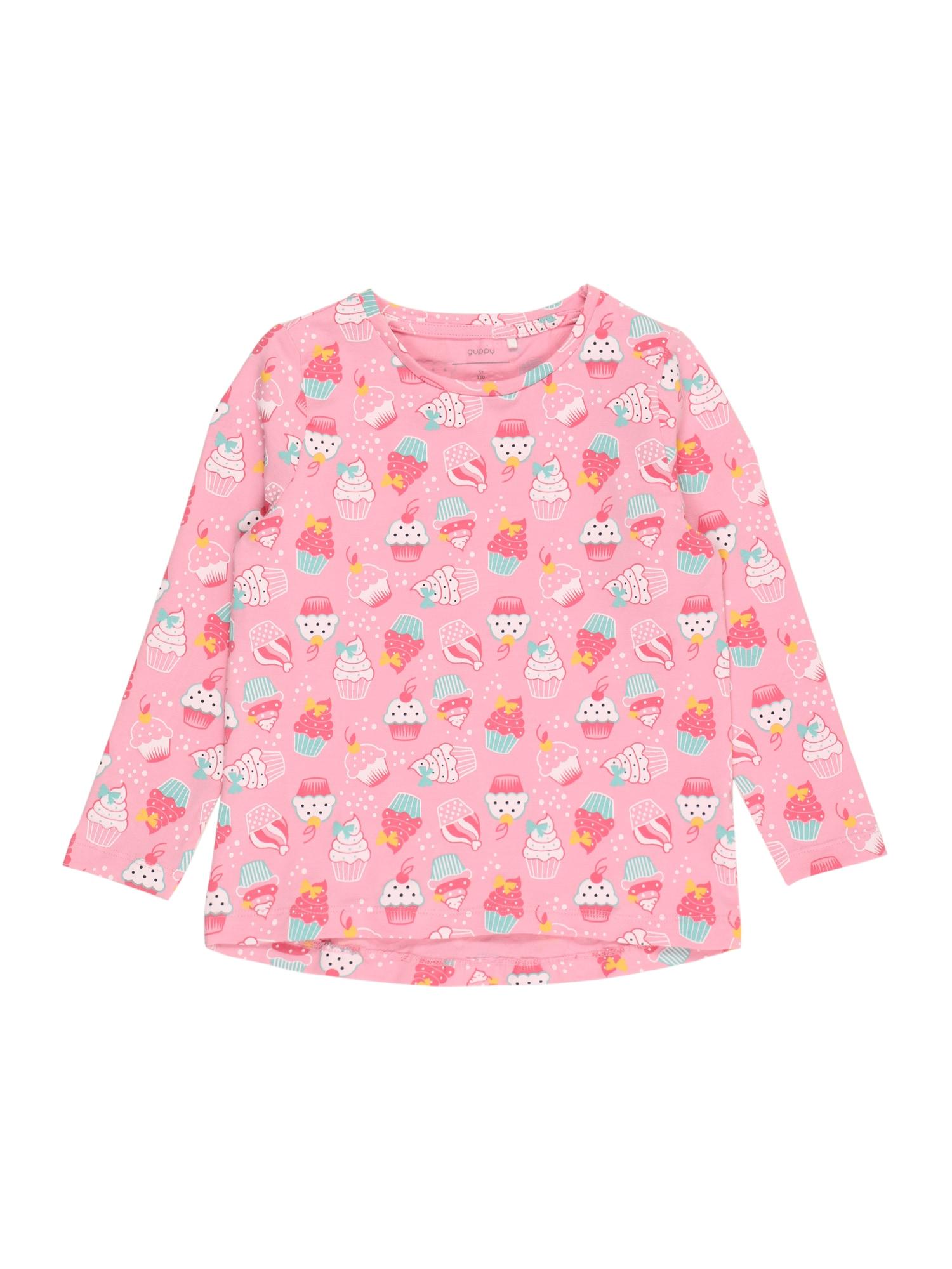 Guppy Marškinėliai 'FINJA' šviesiai rožinė / mišrios spalvos