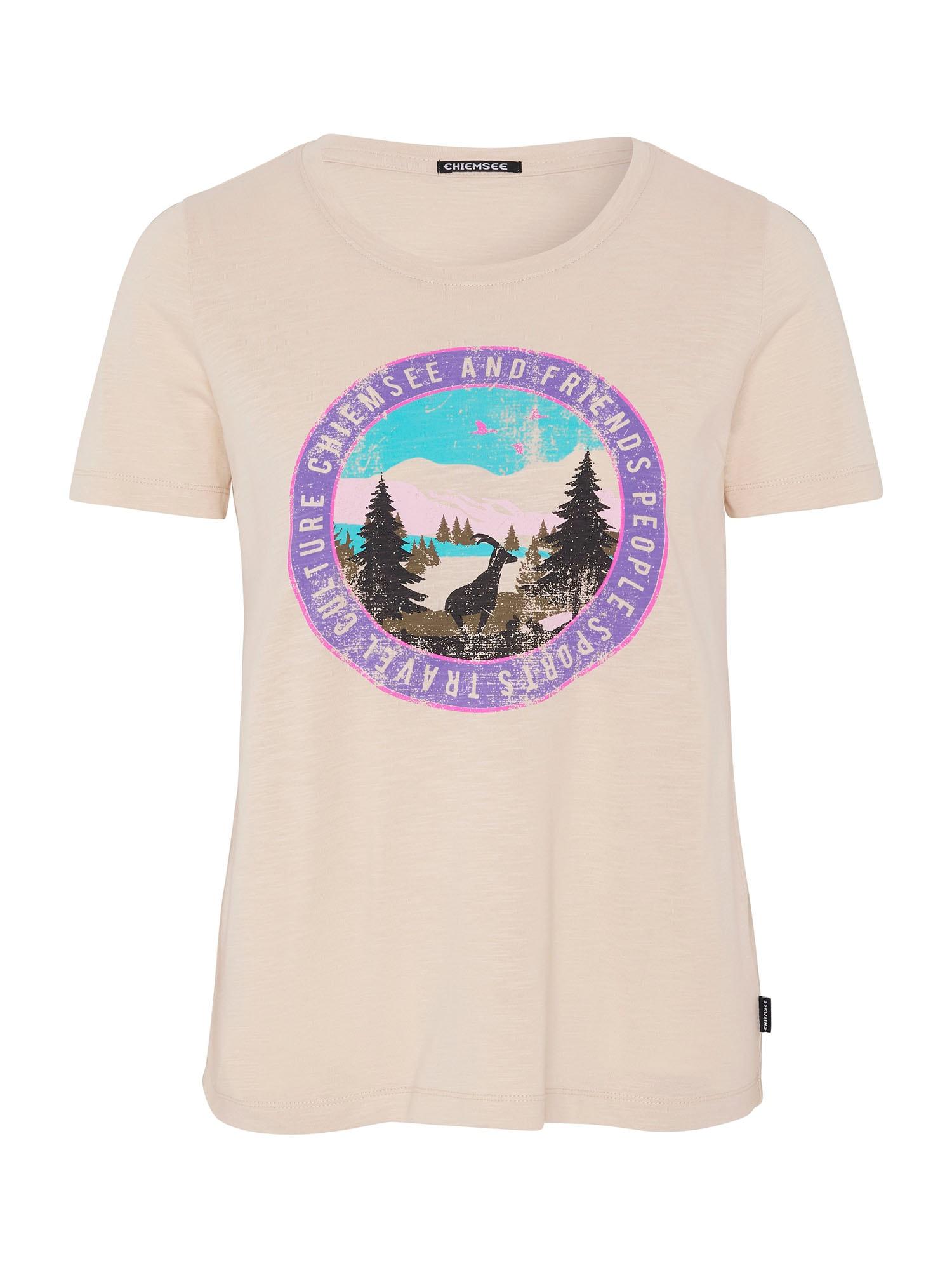 CHIEMSEE Funkční tričko 'Sangaj'  béžová