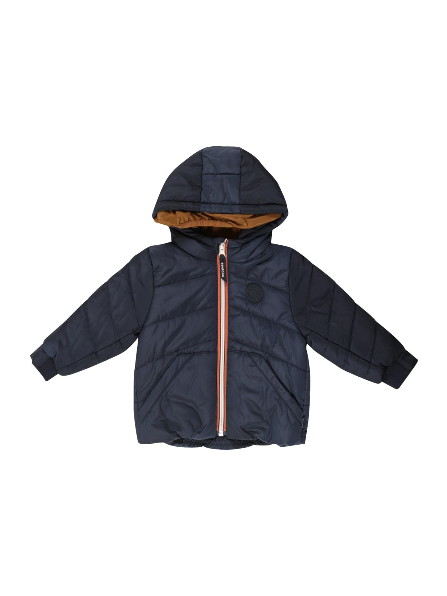 Noppies Zimní bunda 'Rangoon'  modrá / tmavě oranžová