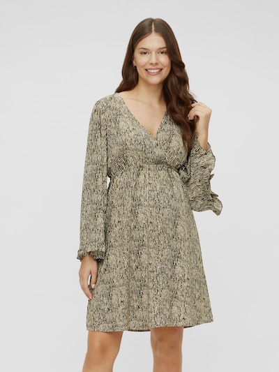 Mama.Licious Mayra Langärmeliges, gewebtes kurzes Kleid