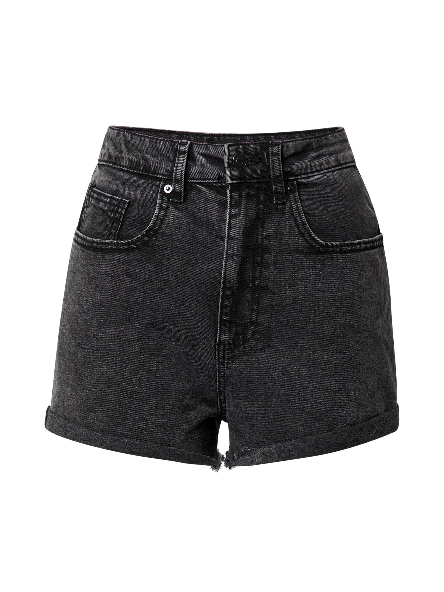 SISTERS POINT Džinsai juodo džinso spalva