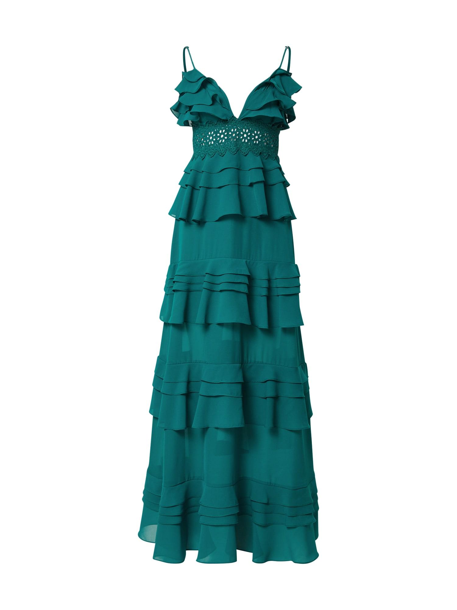 True Decadence Vakarinė suknelė įdegio spalva