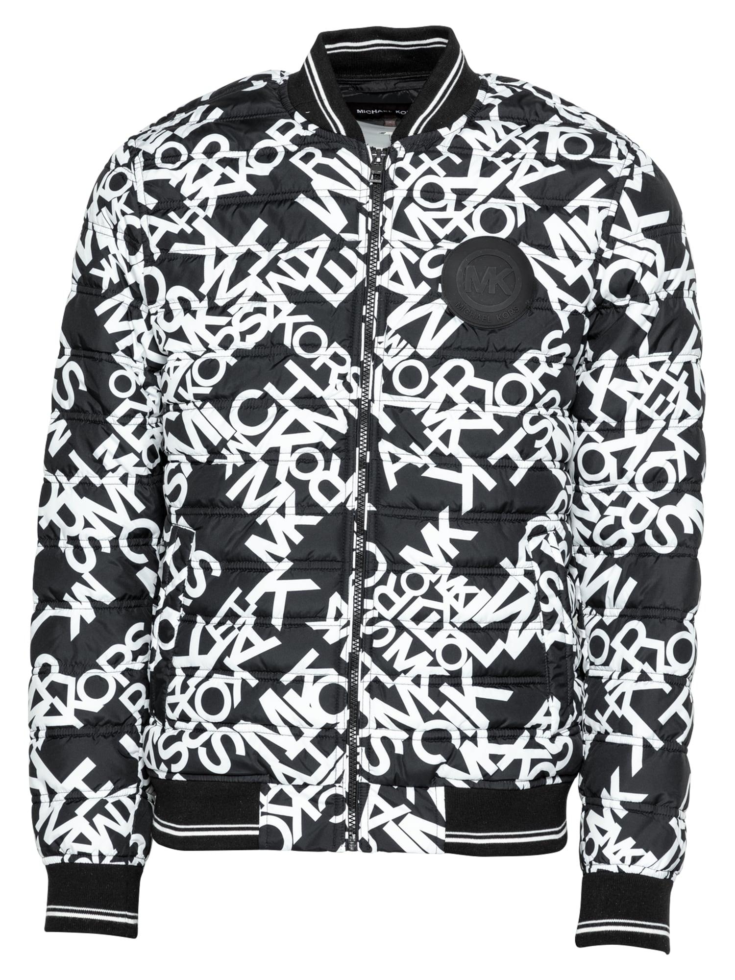 Michael Kors Přechodná bunda  černá / bílá