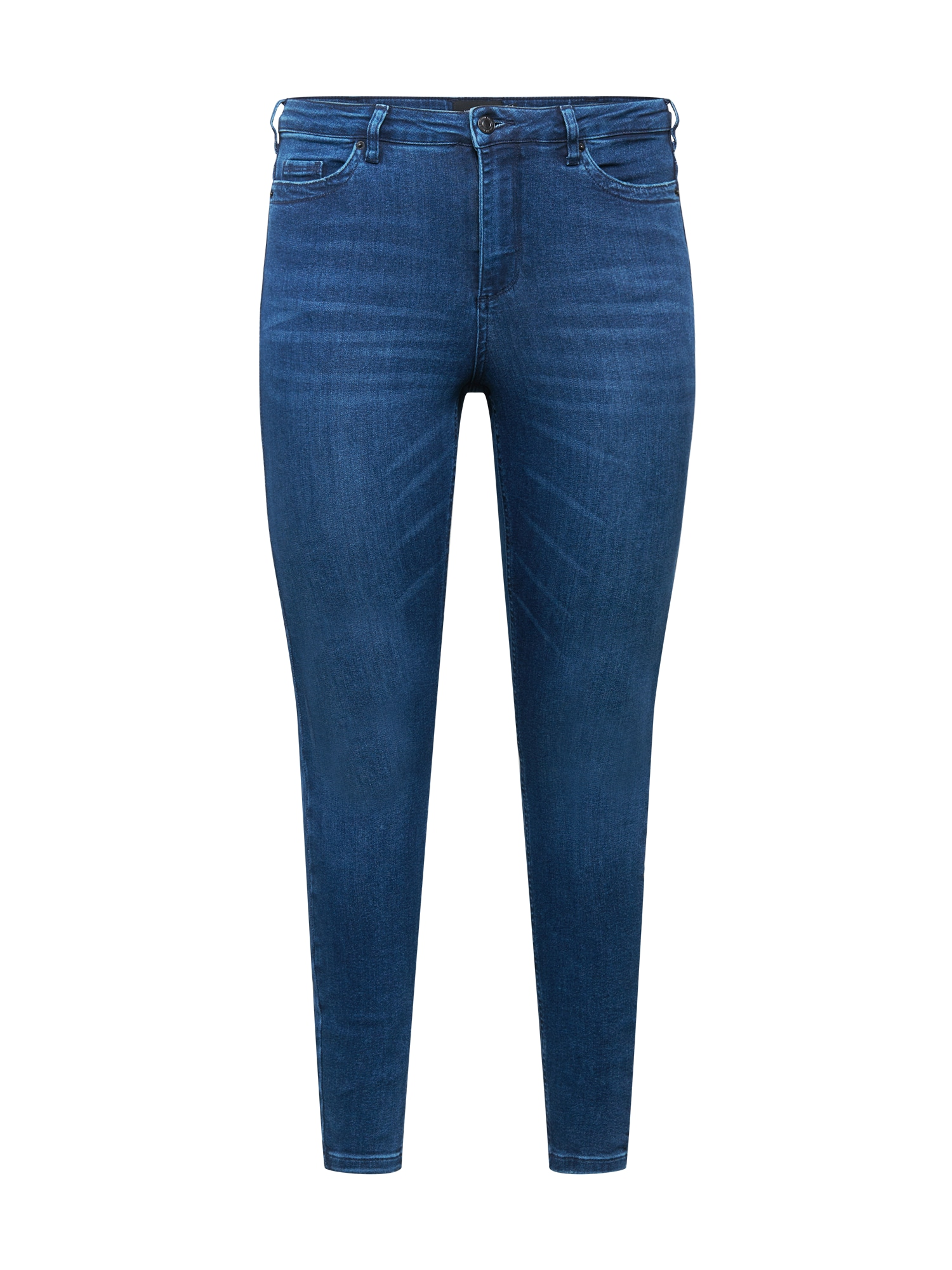 Vero Moda Curve Džinsai tamsiai (džinso) mėlyna
