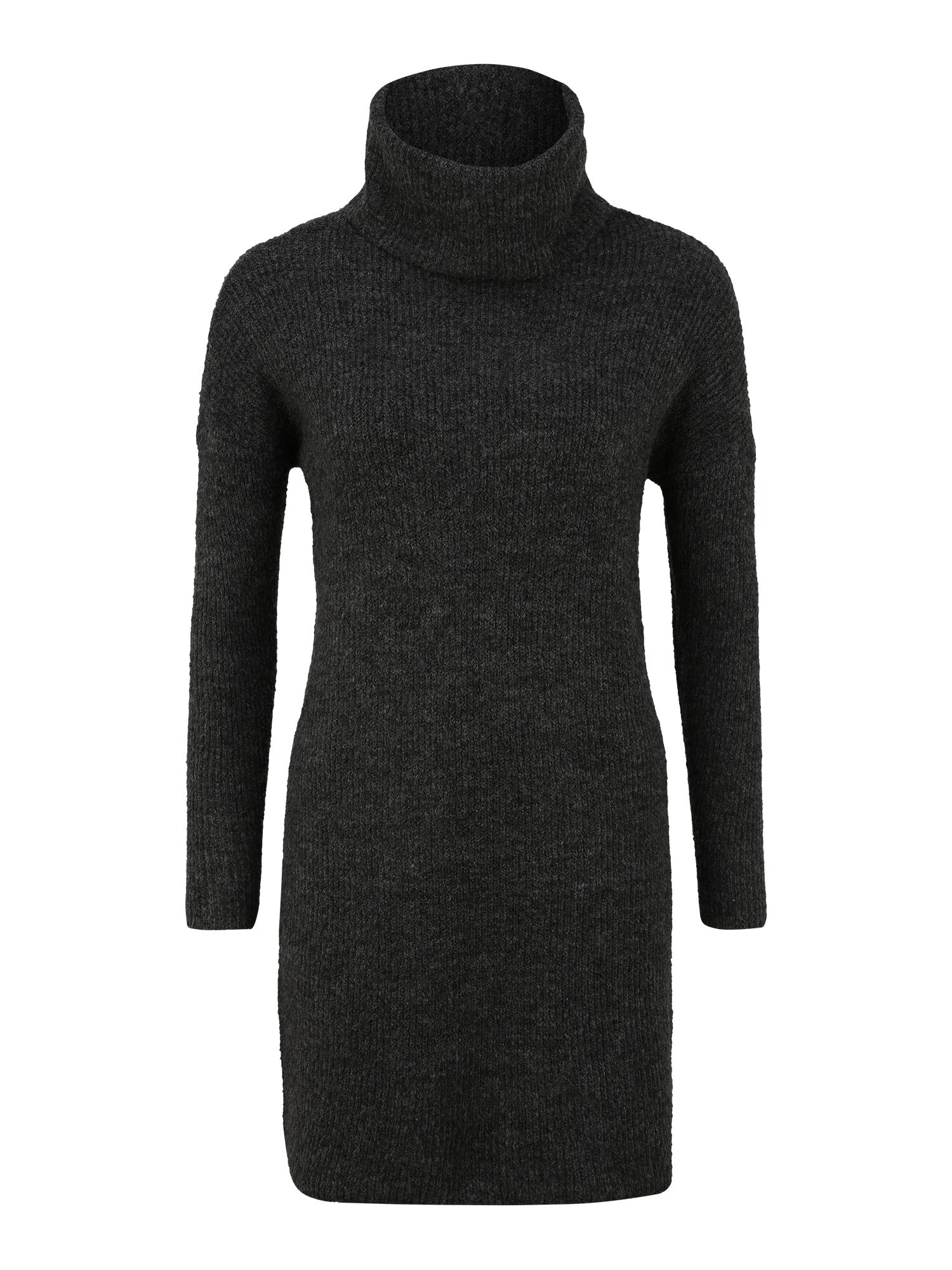 Only (Petite) Megzta suknelė tamsiai pilka