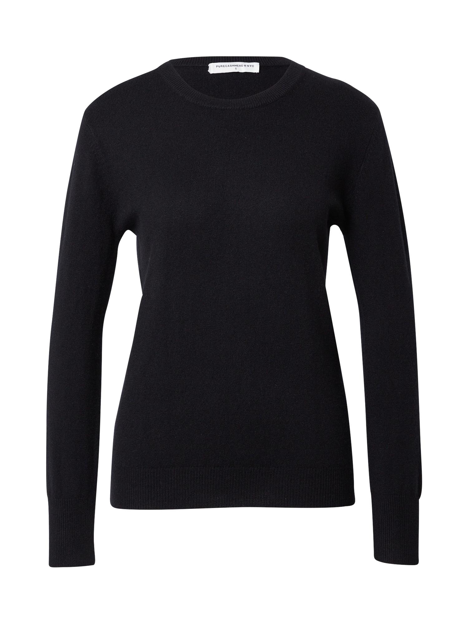 Pure Cashmere NYC Megztinis juoda