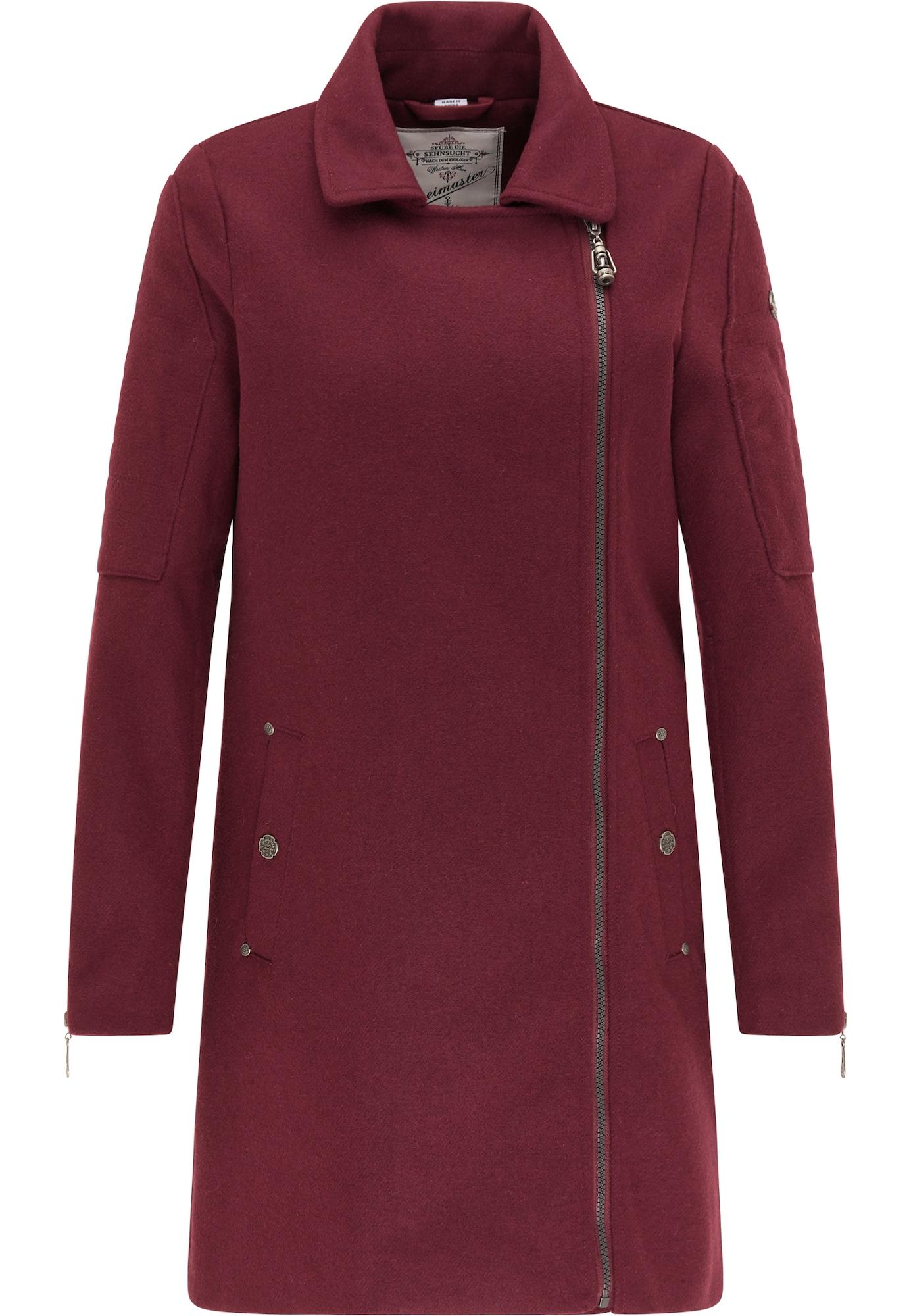 DreiMaster Vintage Demisezoninis paltas kraujo spalva