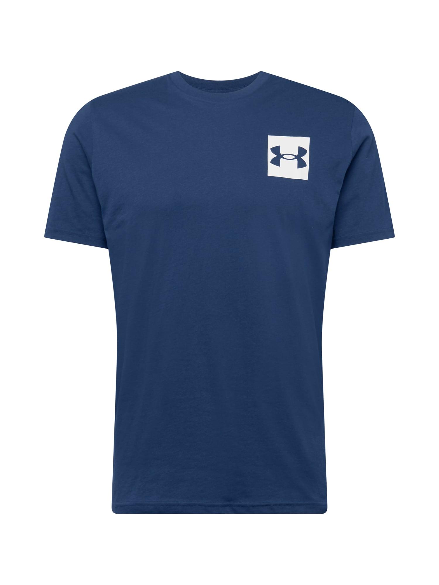 UNDER ARMOUR Funkční tričko  námořnická modř / bílá