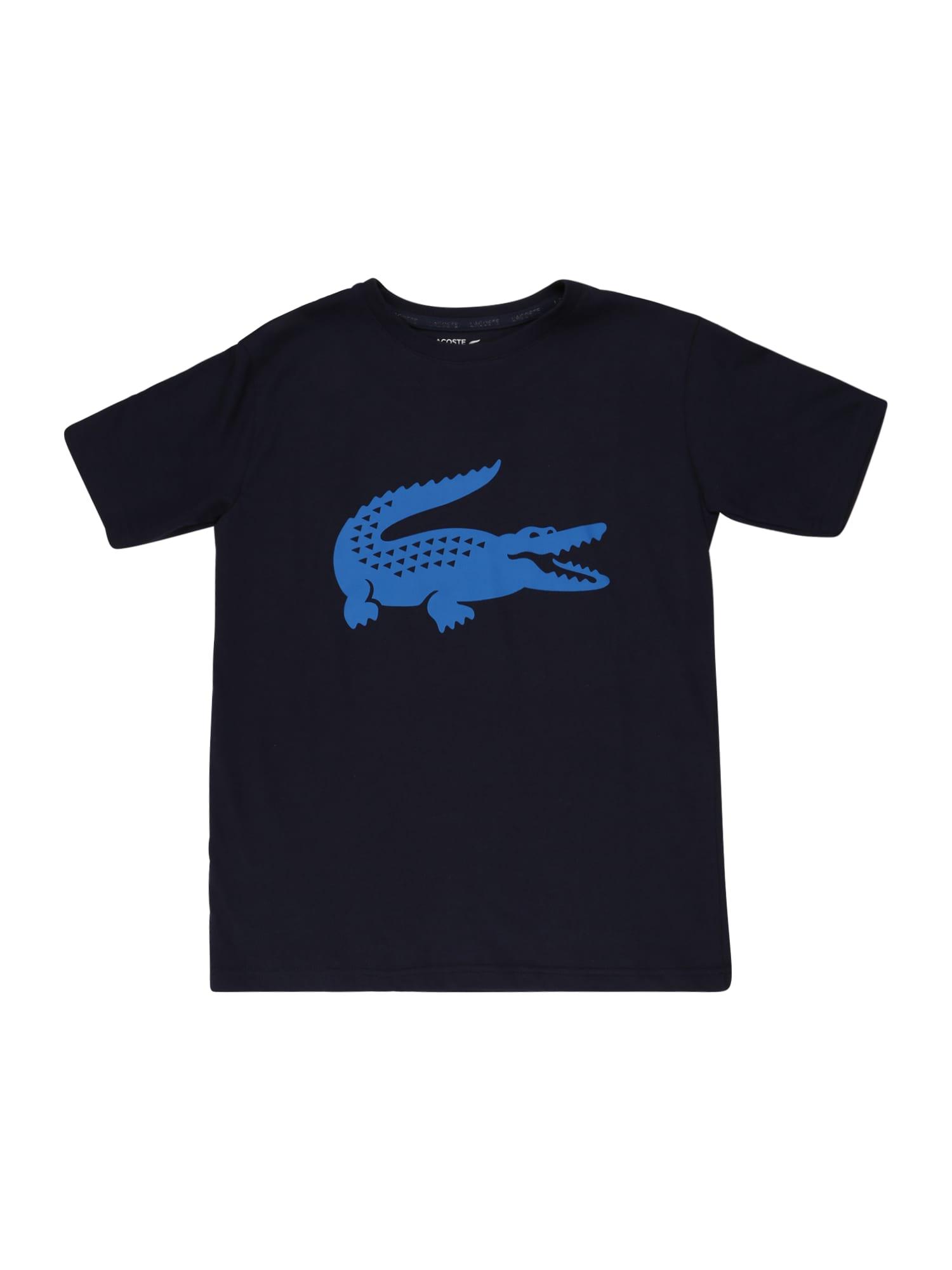 LACOSTE Tričko  ultramarínová modř / marine modrá