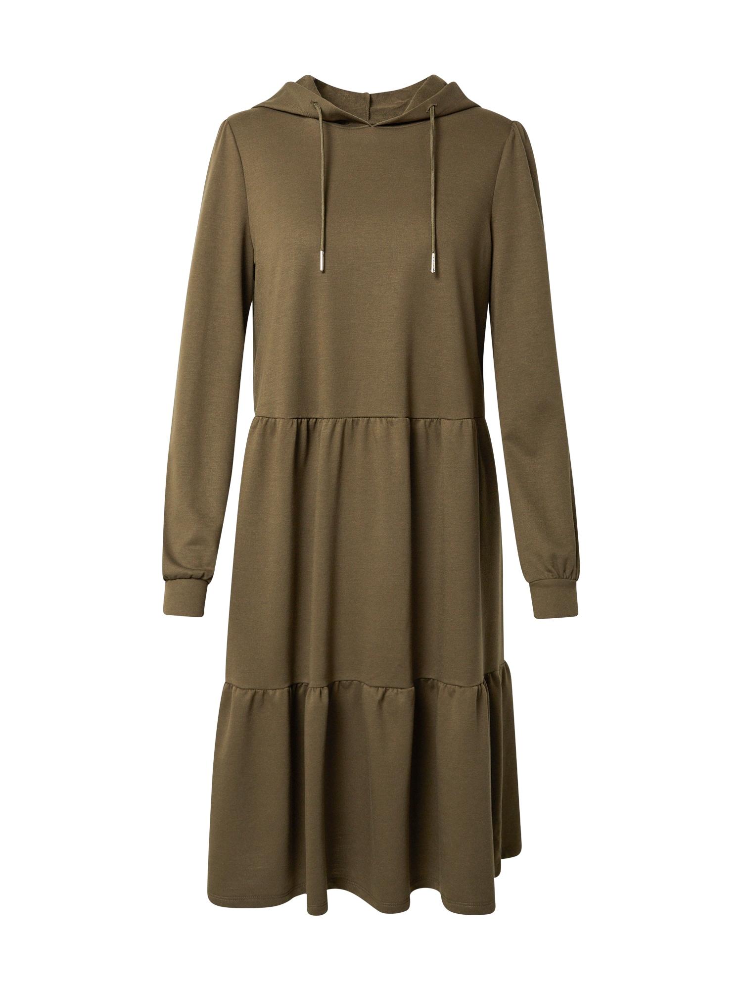 JACQUELINE de YONG Suknelė rusvai žalia