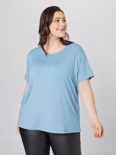 Only Carmakoma T-Shirt mit Rundhalsausschnitt