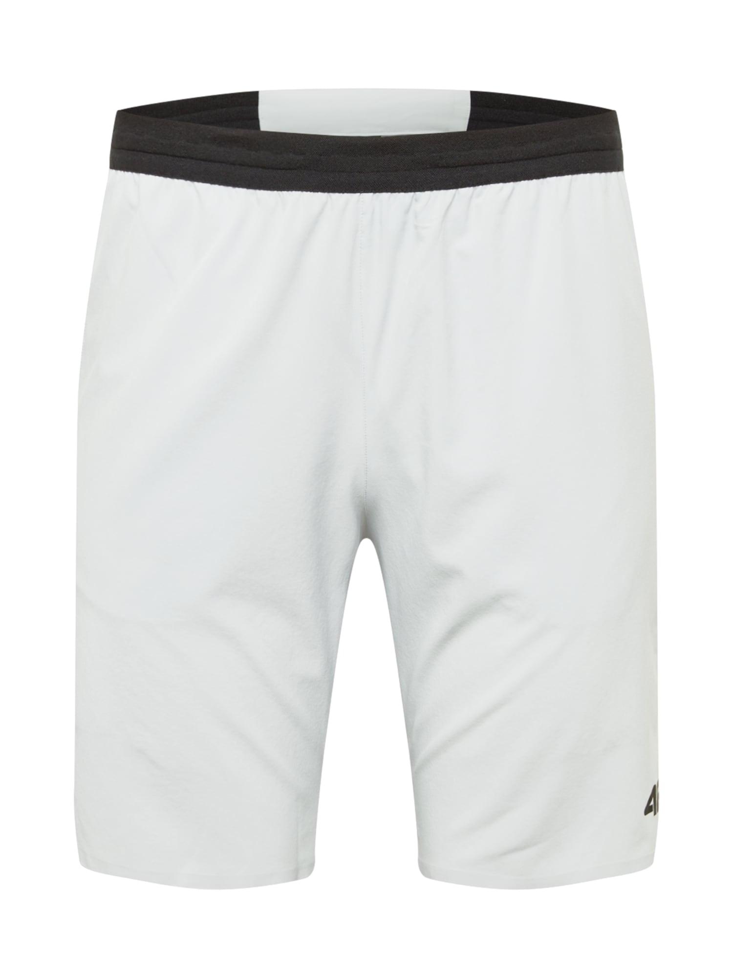 4F Sportovní kalhoty  světle šedá