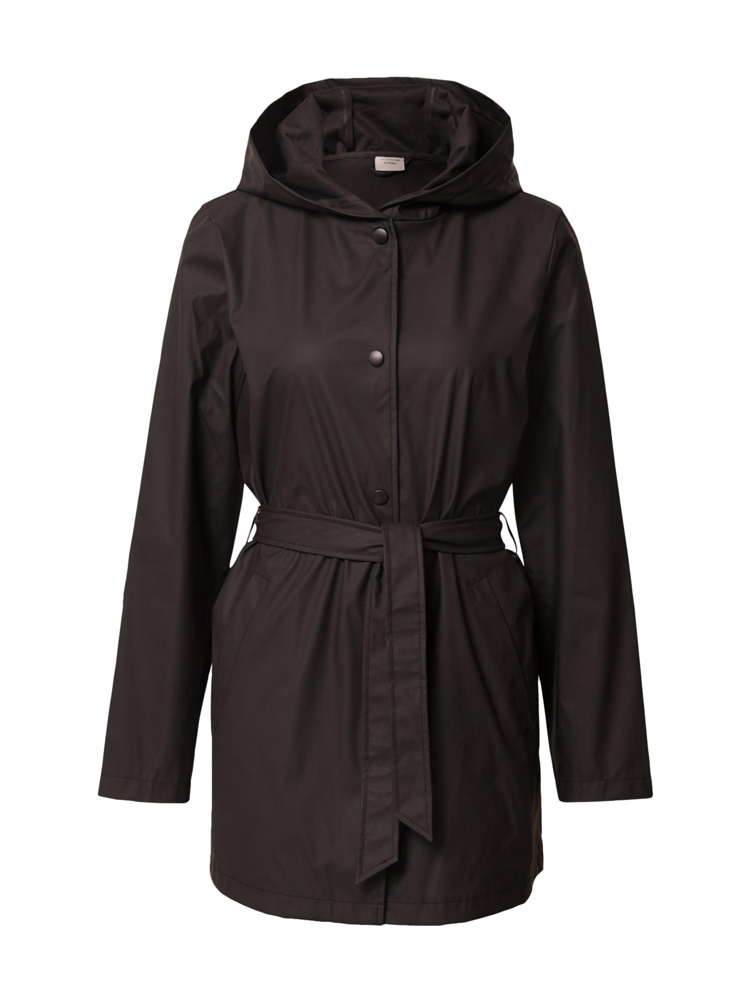 JACQUELINE de YONG Přechodný kabát  černá