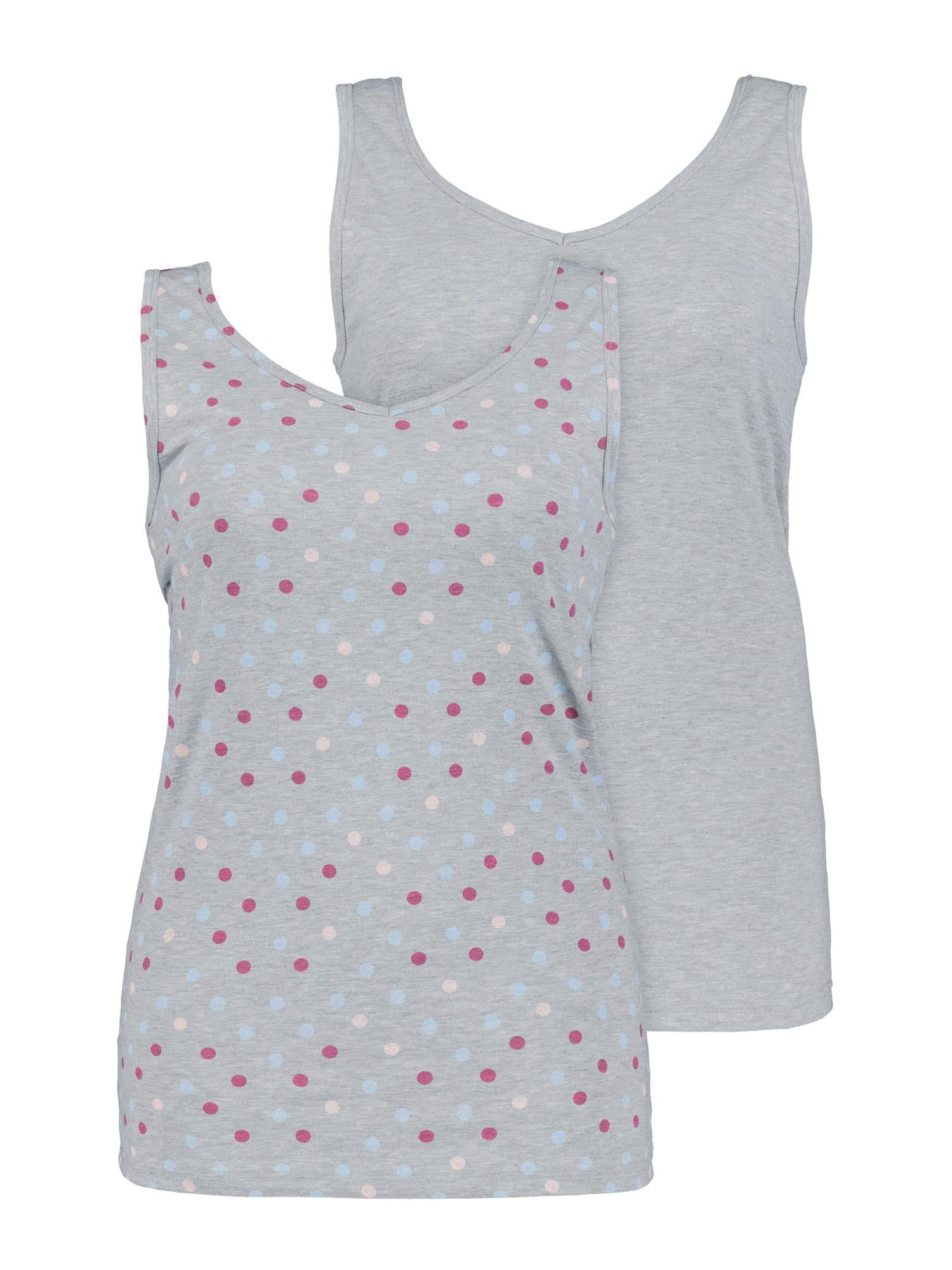 Ulla Popken Apatiniai marškinėliai mišrios spalvos