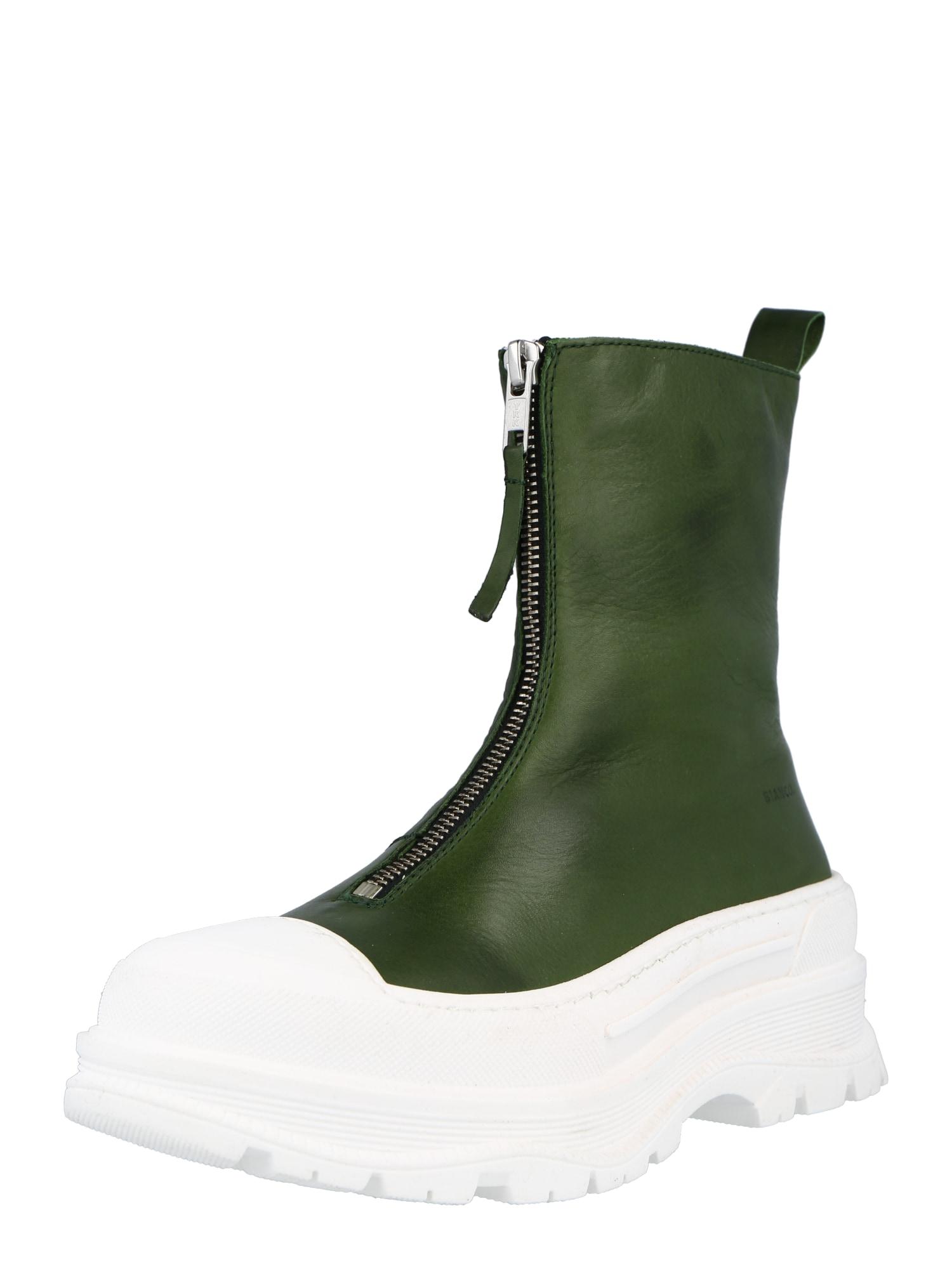 Bianco Aulinukai žalia / balta