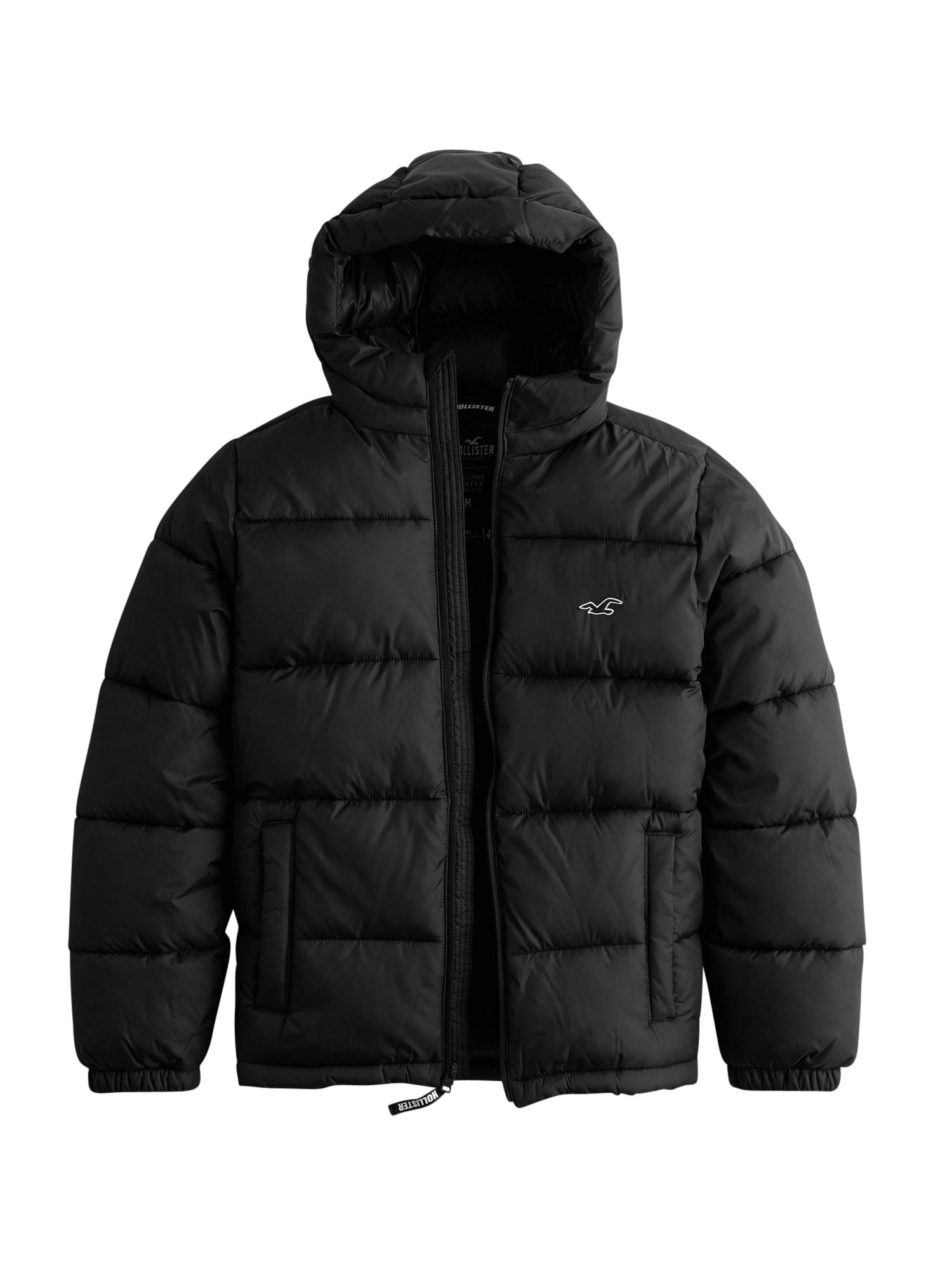 HOLLISTER Zimní bunda 'Webex'  černá