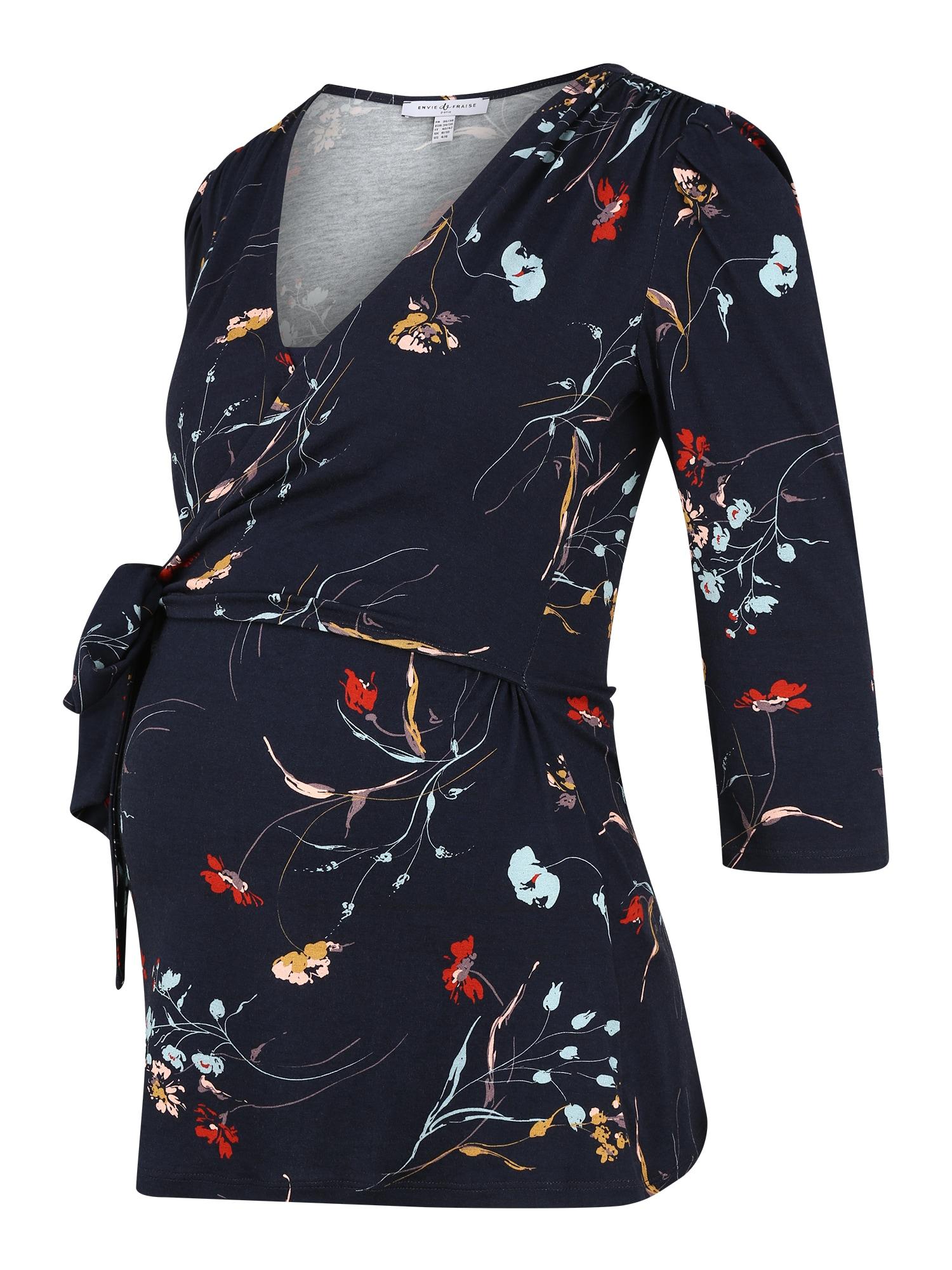 Envie de Fraise Marškinėliai tamsiai mėlyna / mišrios spalvos