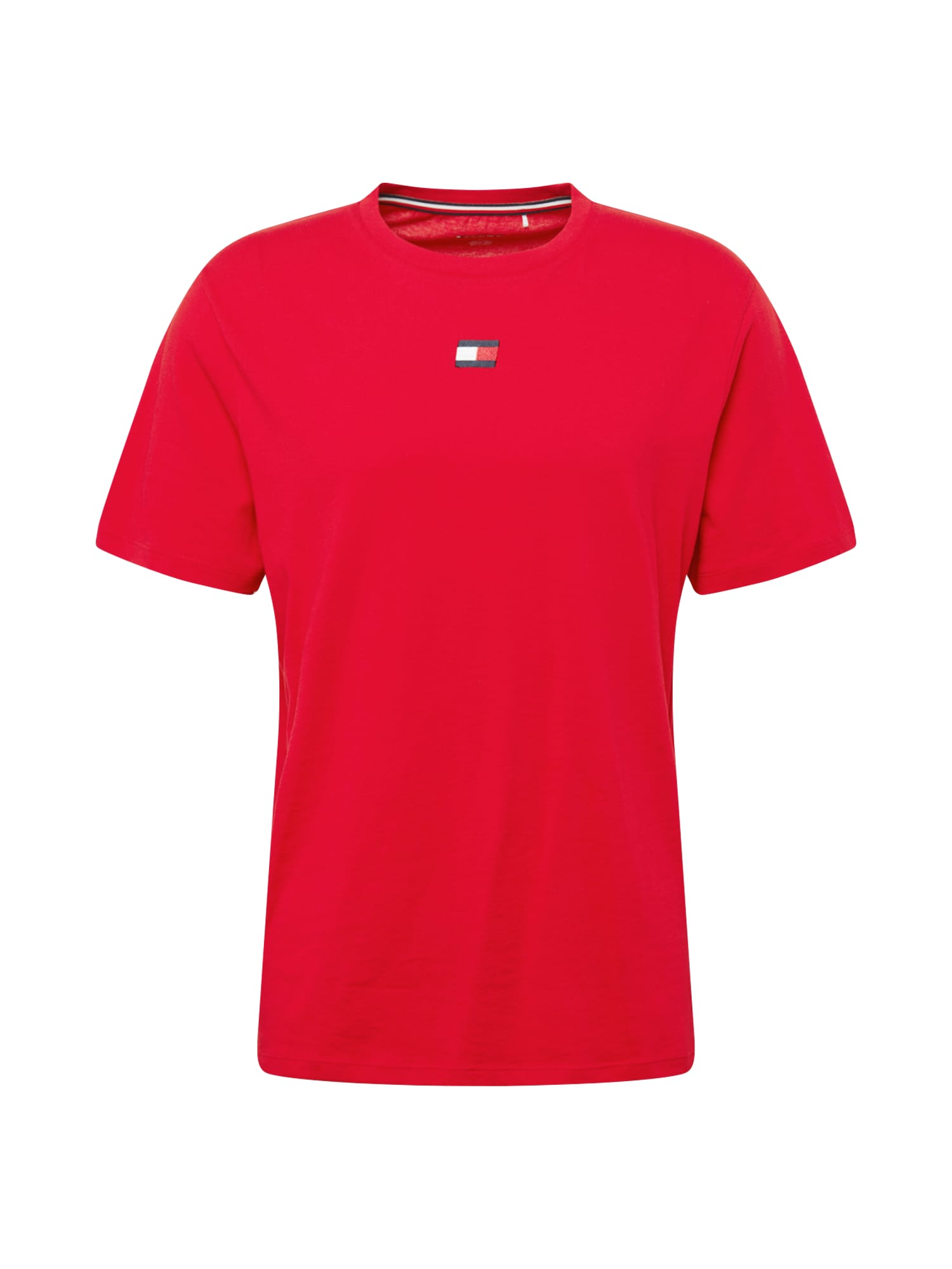 Tommy Sport Funkční tričko  červená / bílá / marine modrá