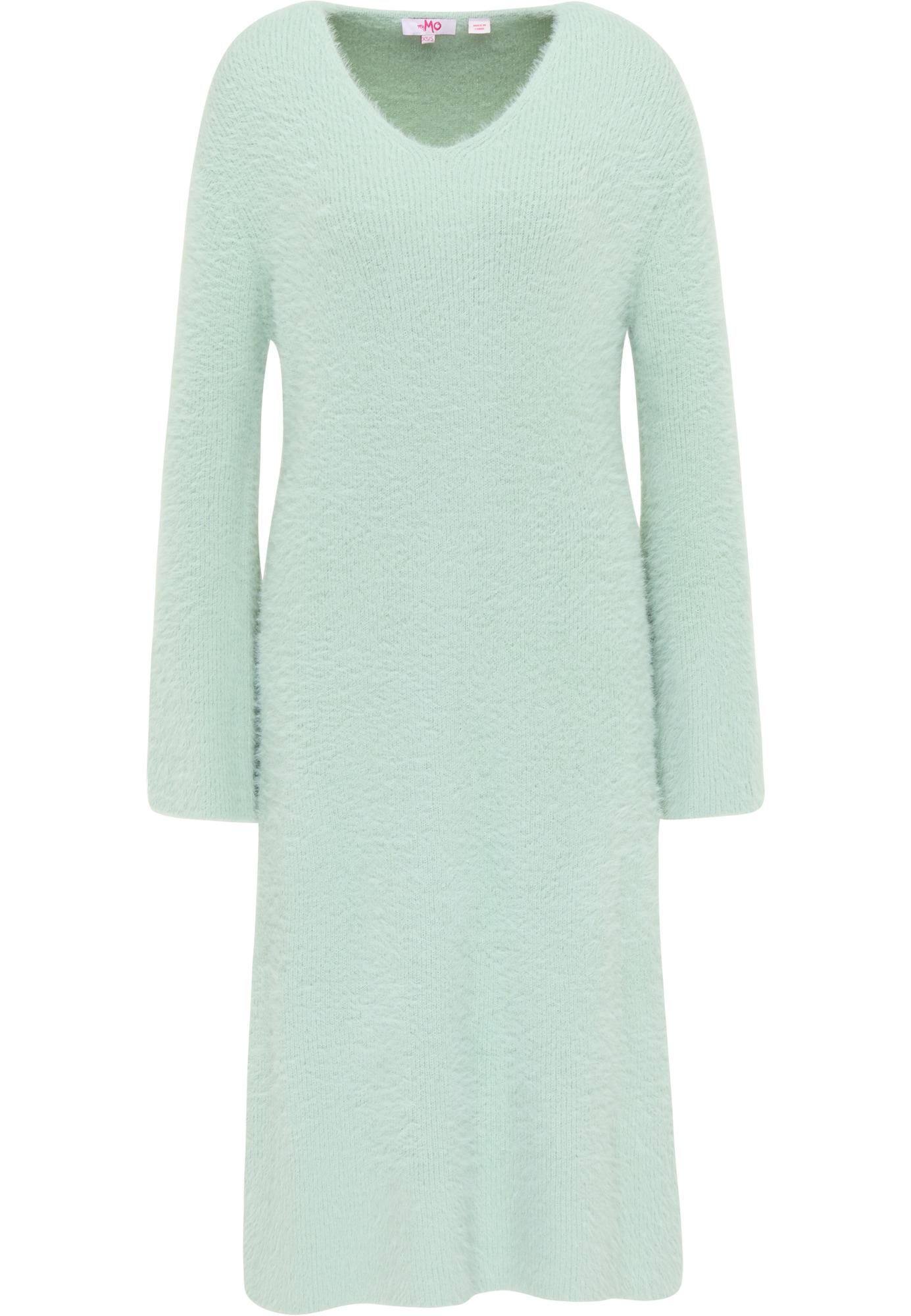 MYMO Megzta suknelė mėtų spalva
