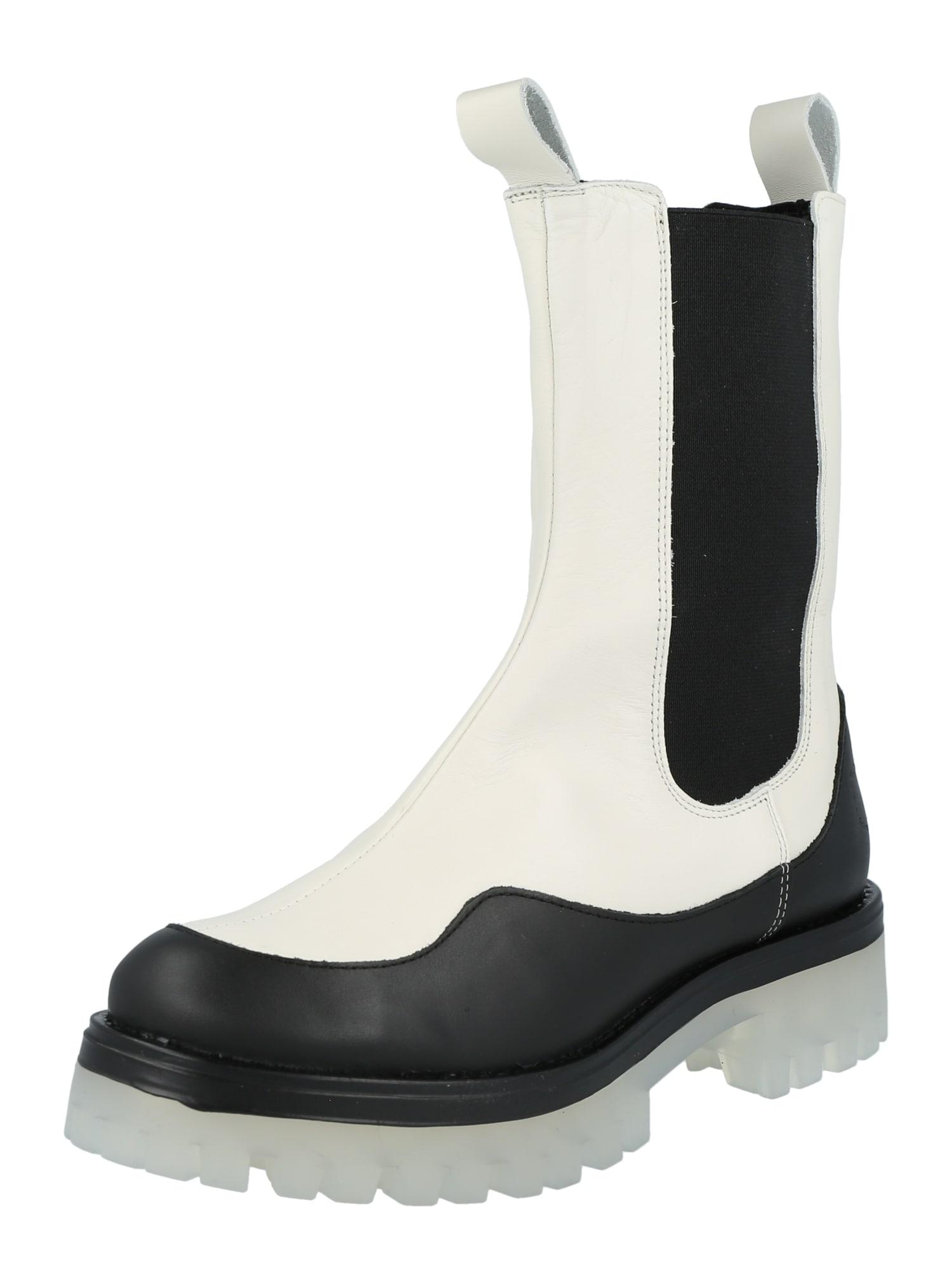Ca Shott Auliniai batai balta / juoda