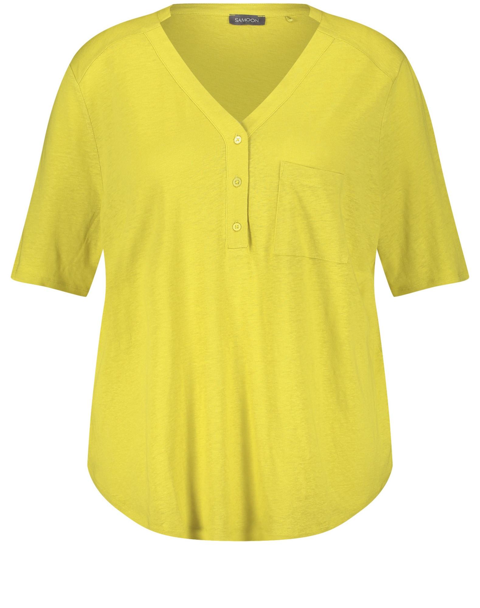 SAMOON Marškinėliai margai geltona