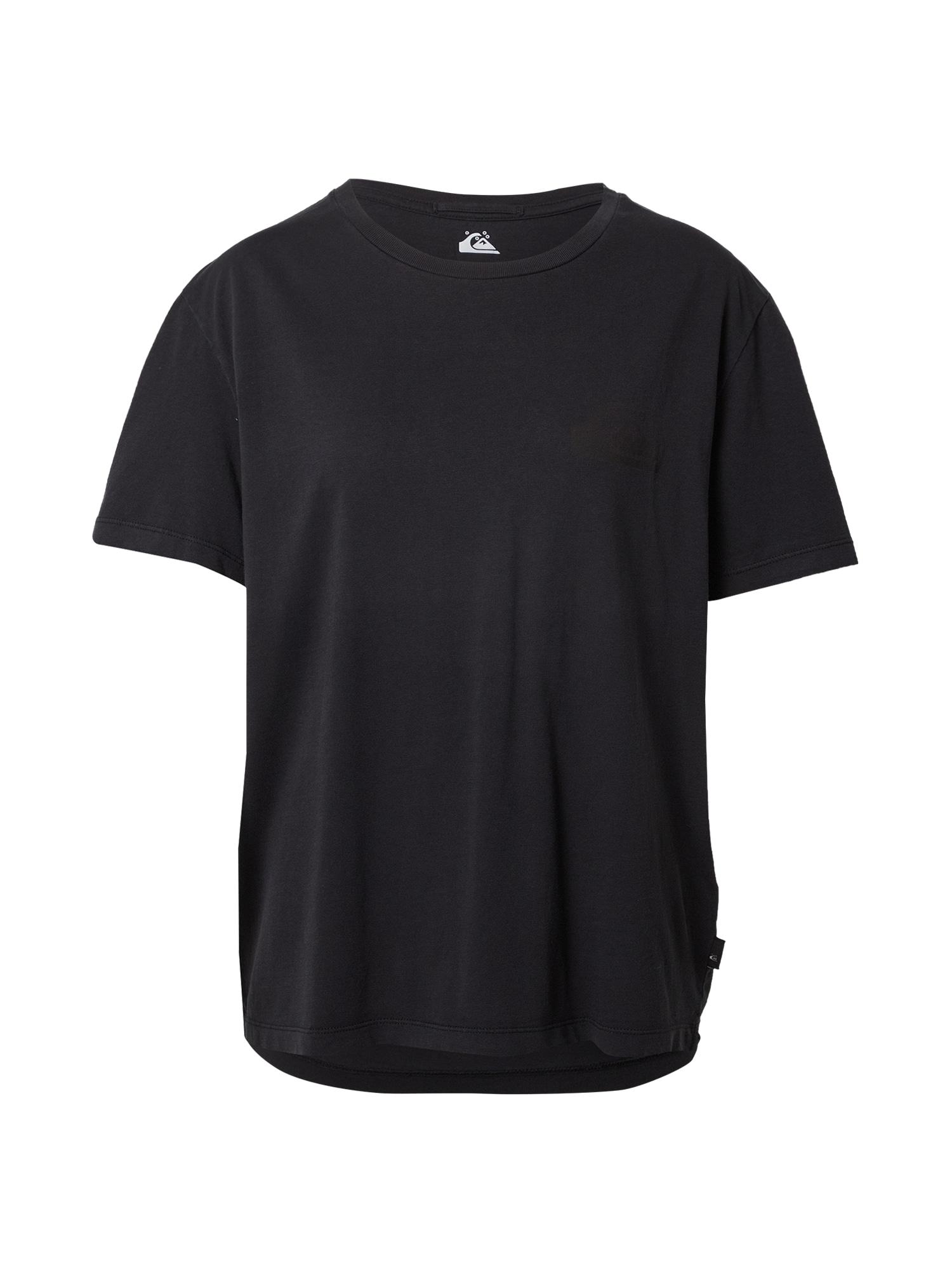 QUIKSILVER Marškinėliai juoda